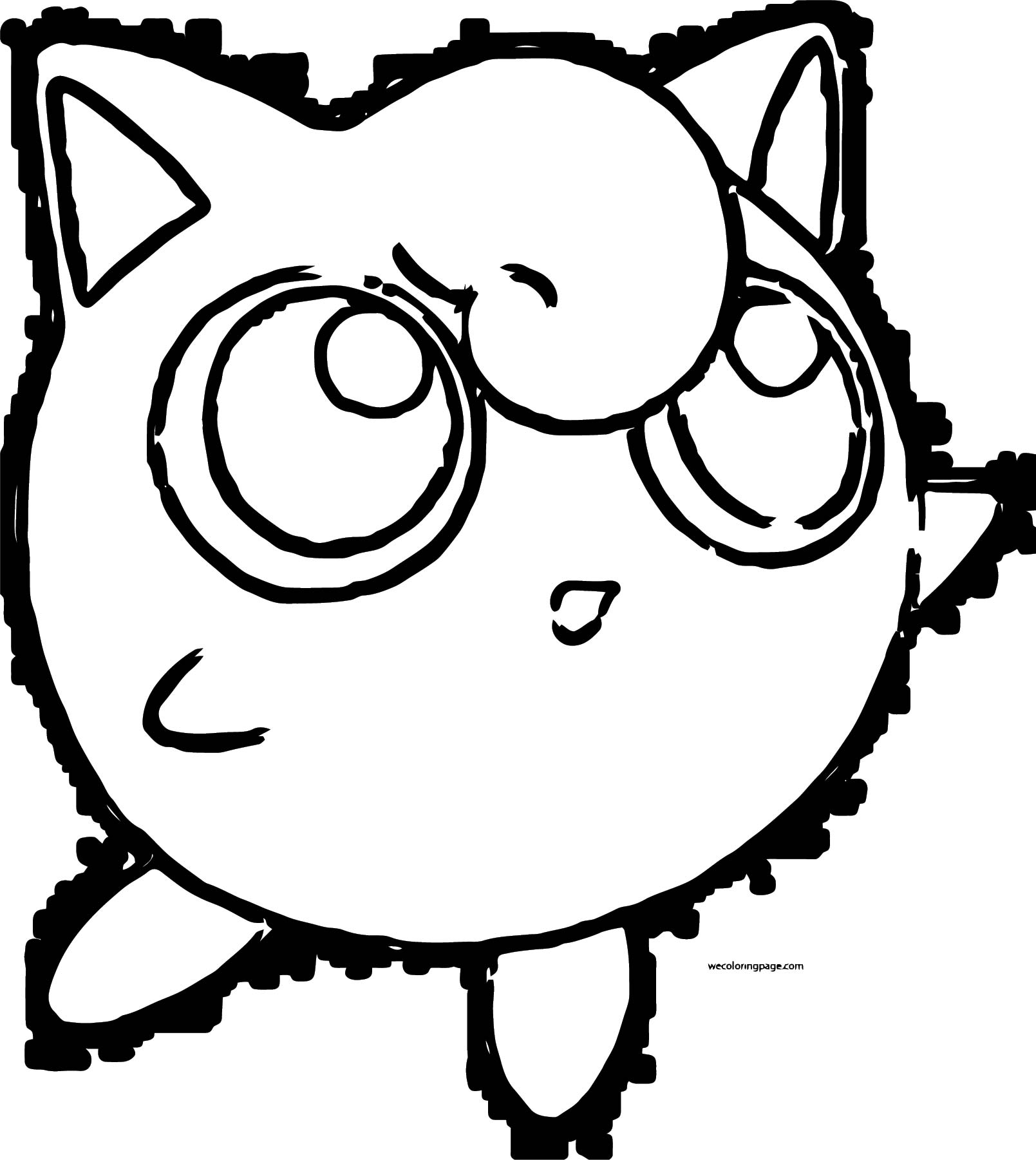 Jigglypuff Coloring Page WeColoringPage 013