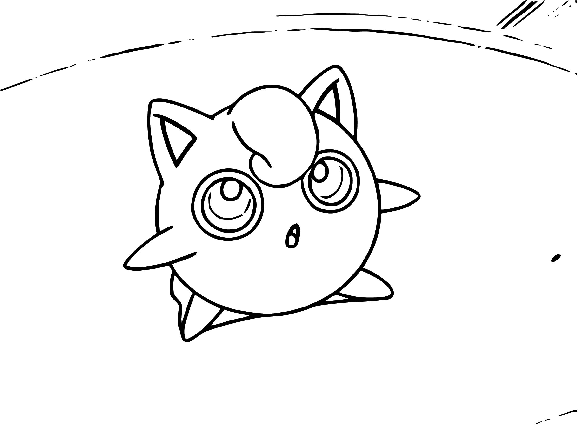 Jigglypuff Coloring Page WeColoringPage 014