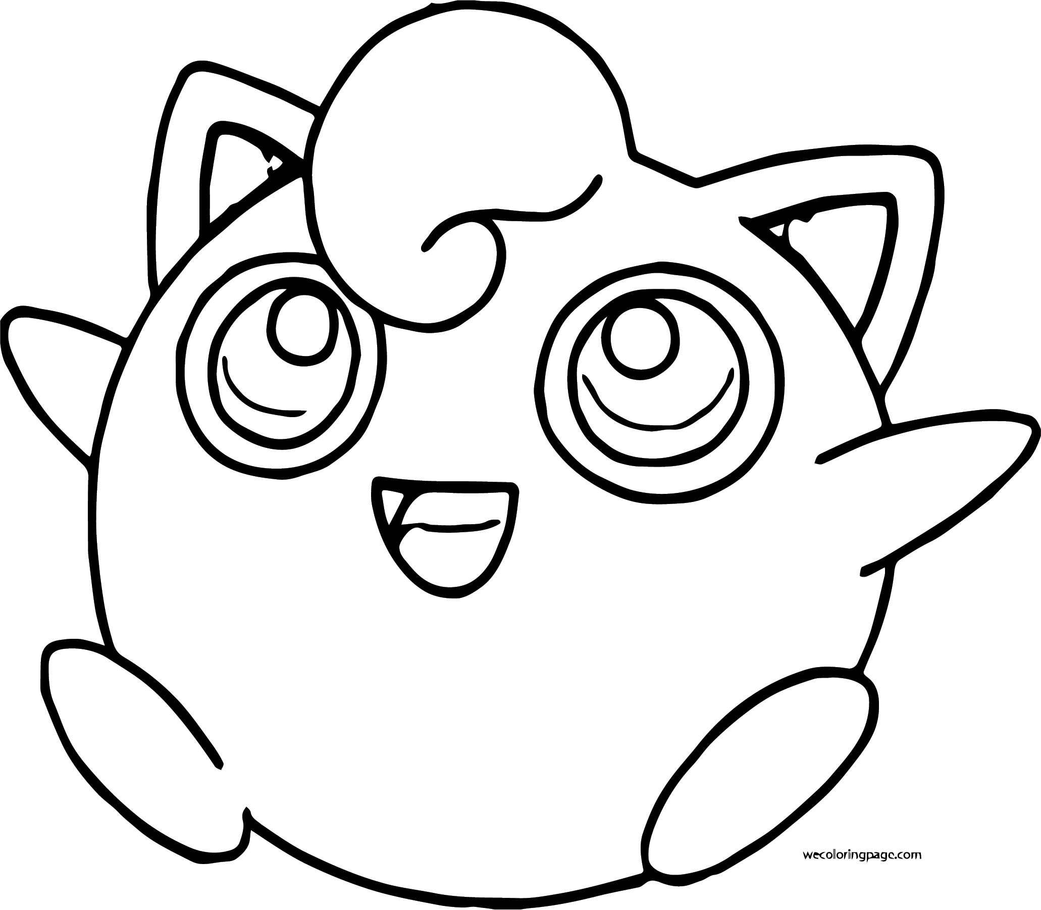 Jigglypuff Coloring Page WeColoringPage 020