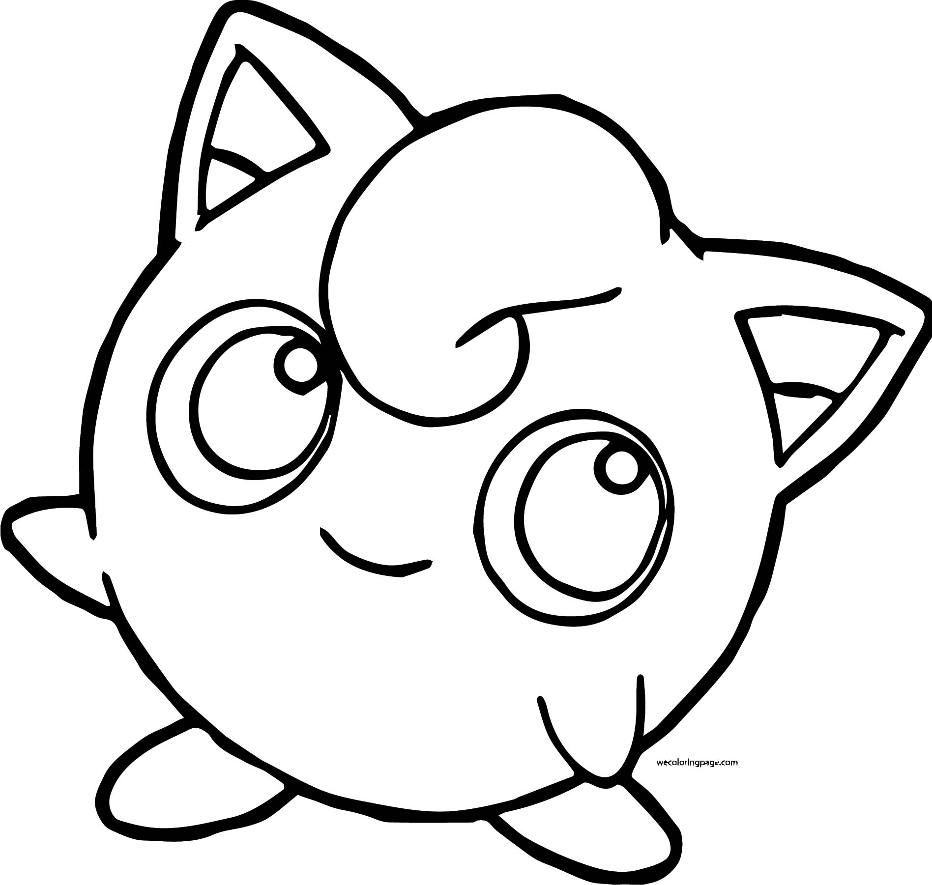 Jigglypuff Coloring Page WeColoringPage 022