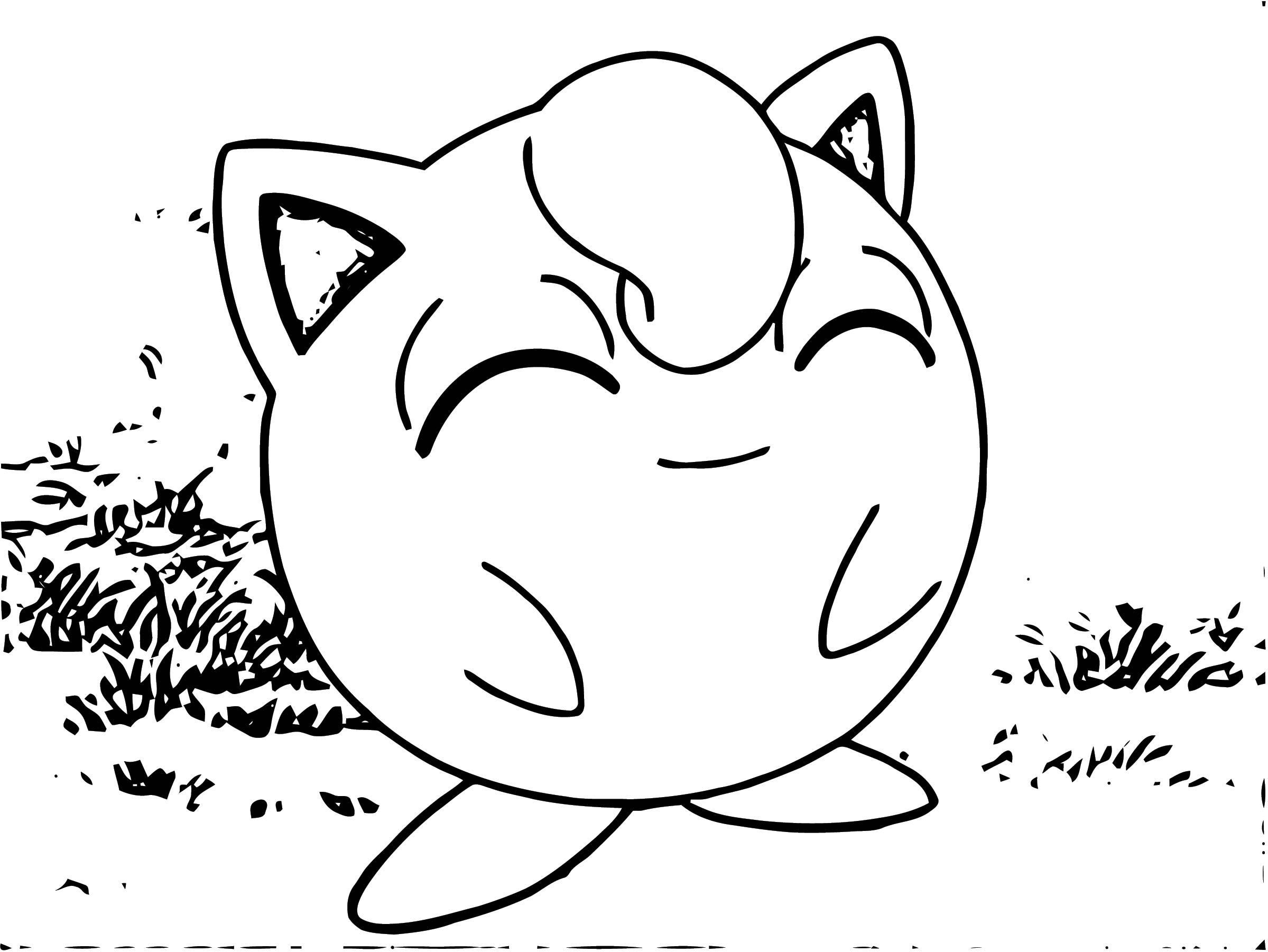 Jigglypuff Coloring Page WeColoringPage 030