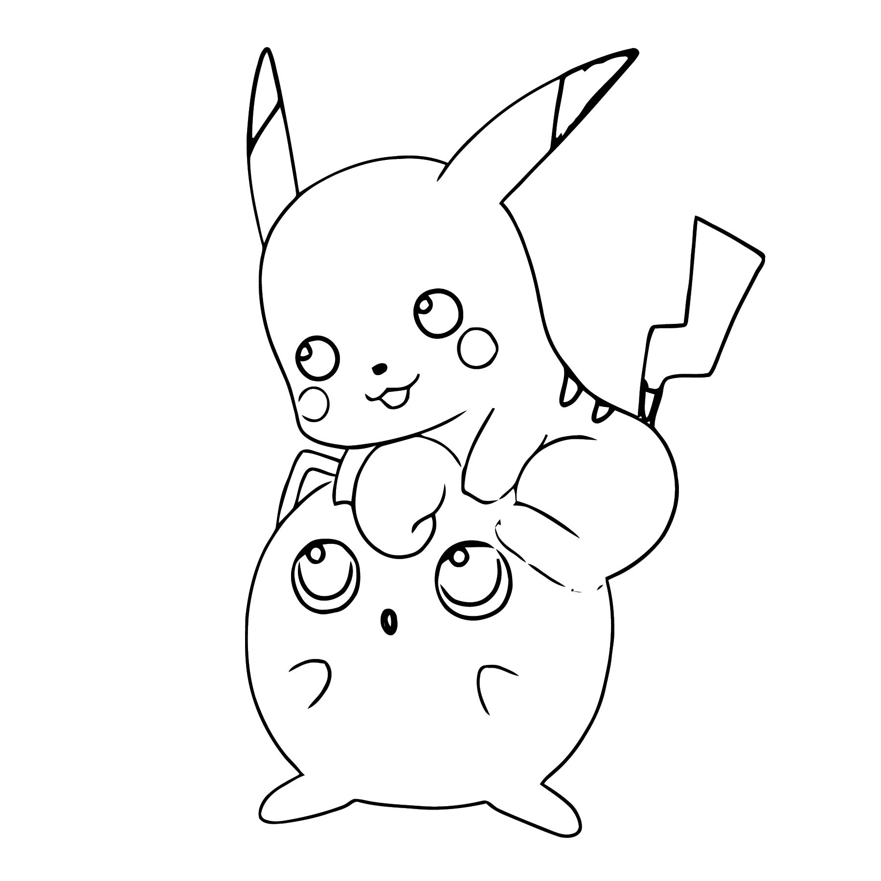 Jigglypuff Coloring Page WeColoringPage 034