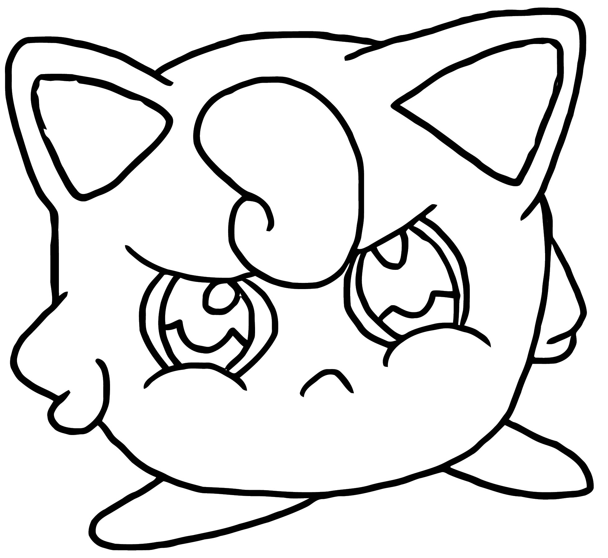 Jigglypuff Coloring Page WeColoringPage 038