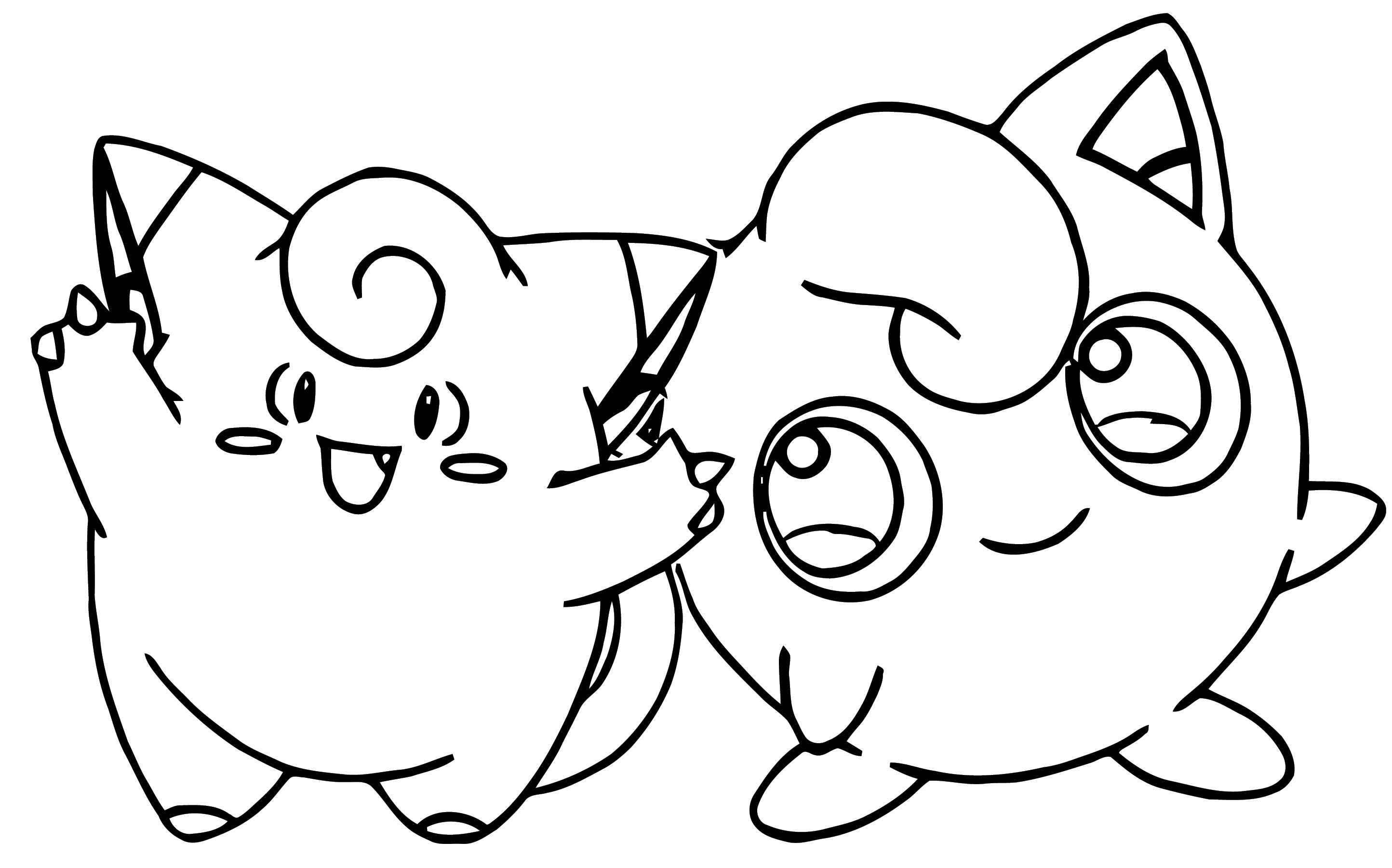 Jigglypuff Coloring Page WeColoringPage 046