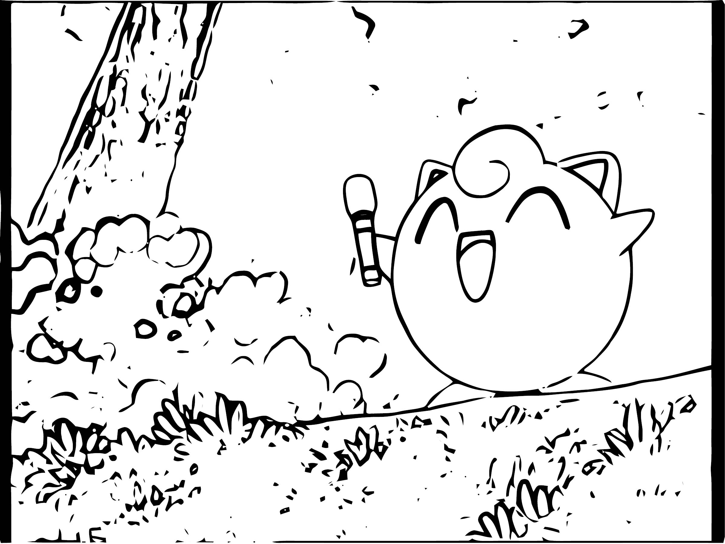 Jigglypuff Coloring Page WeColoringPage 050