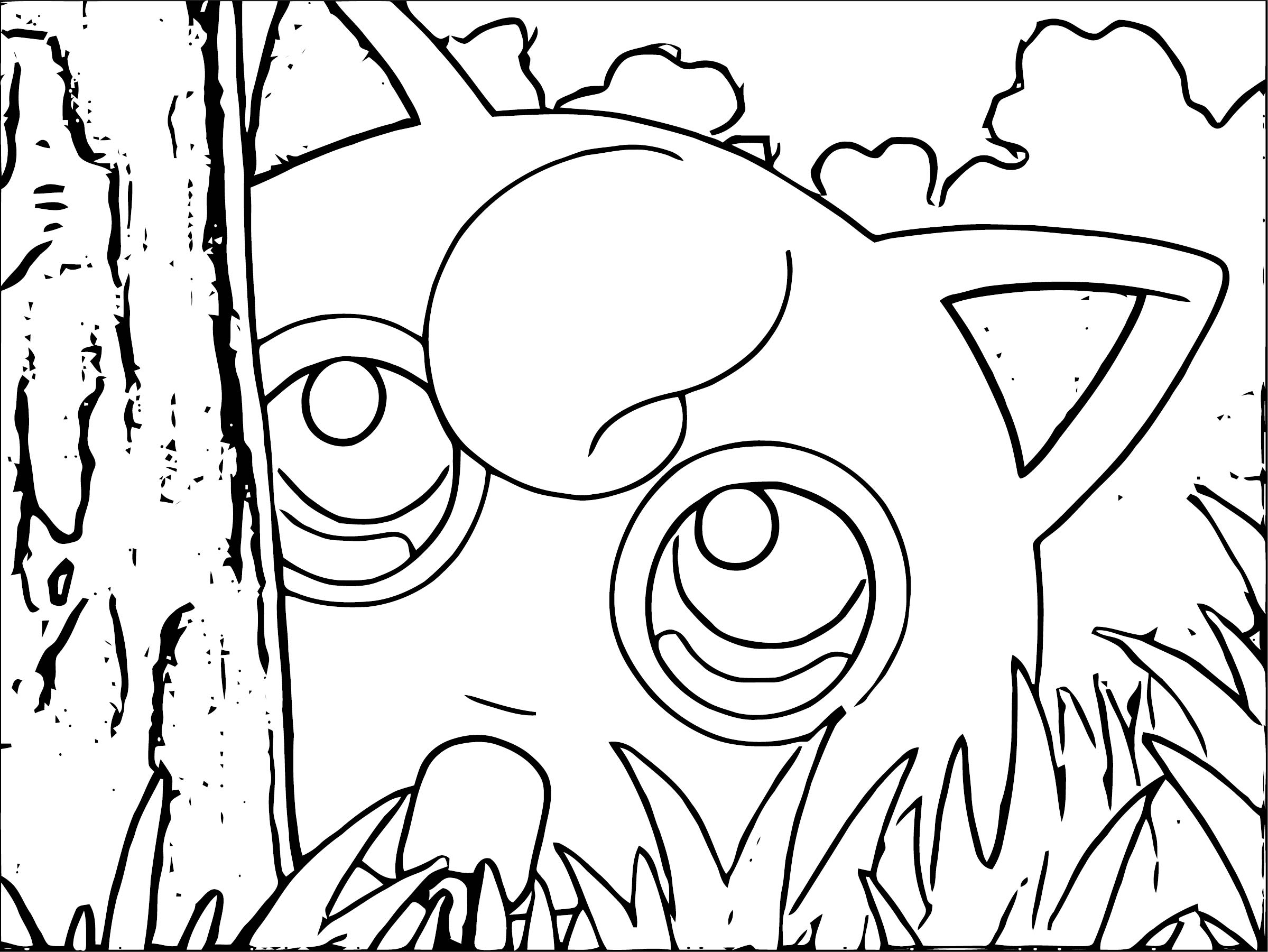 Jigglypuff Coloring Page WeColoringPage 053