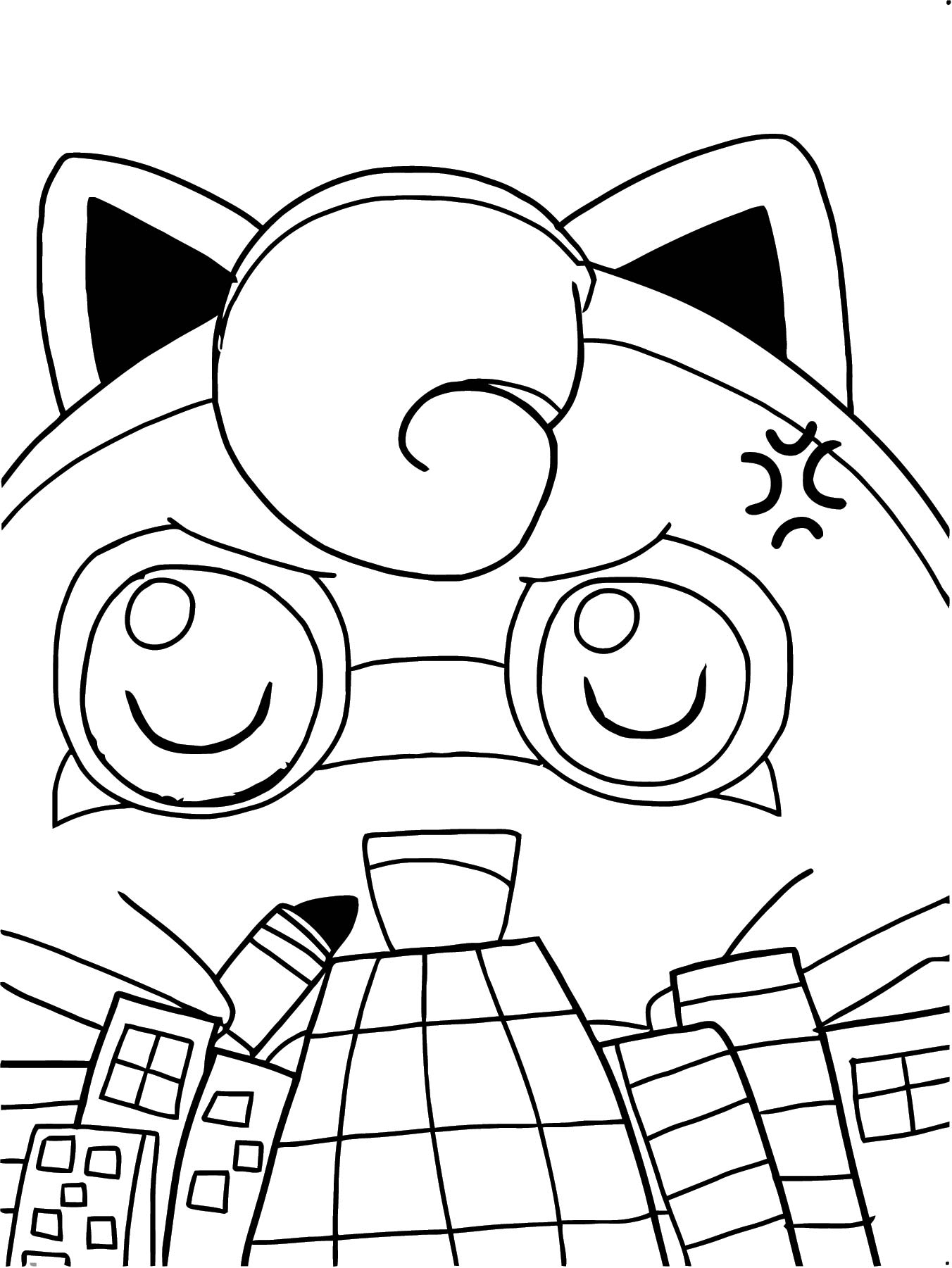 Jigglypuff Coloring Page WeColoringPage 060