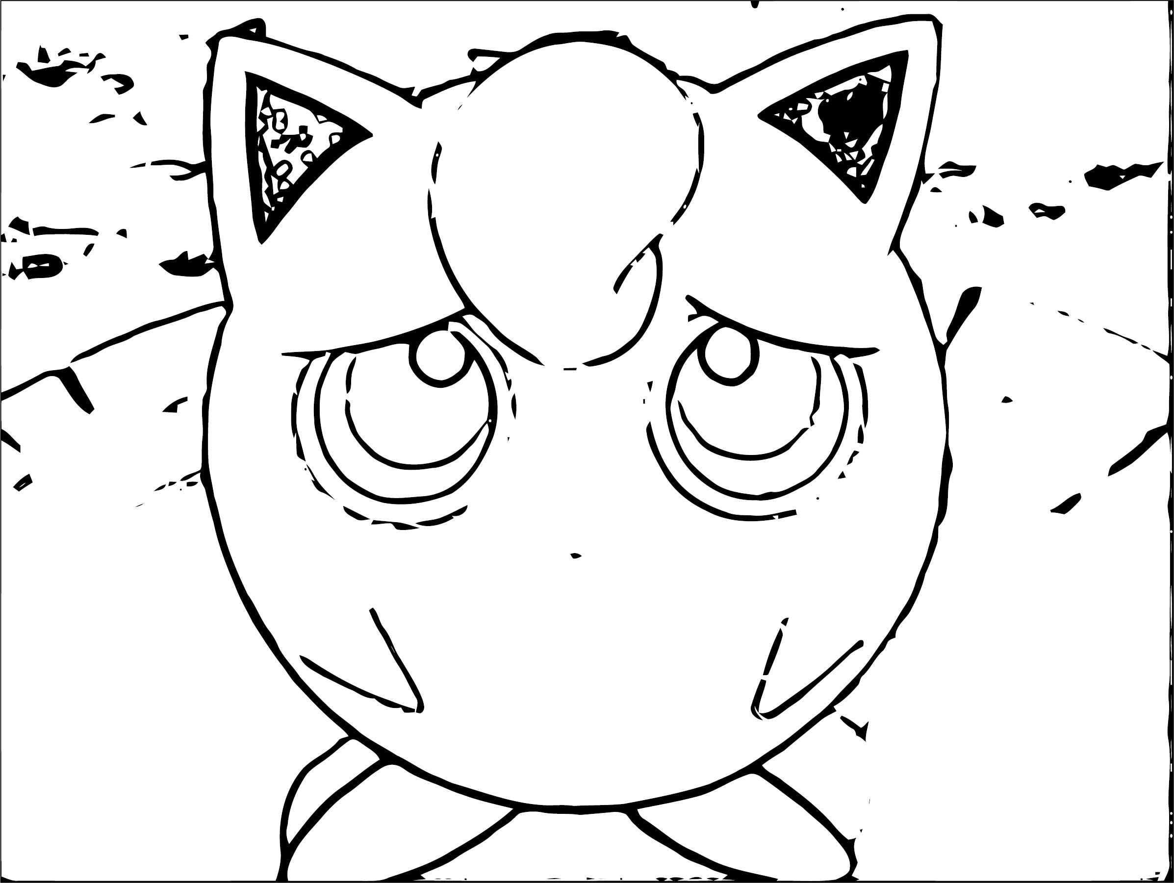 Jigglypuff Coloring Page WeColoringPage 066