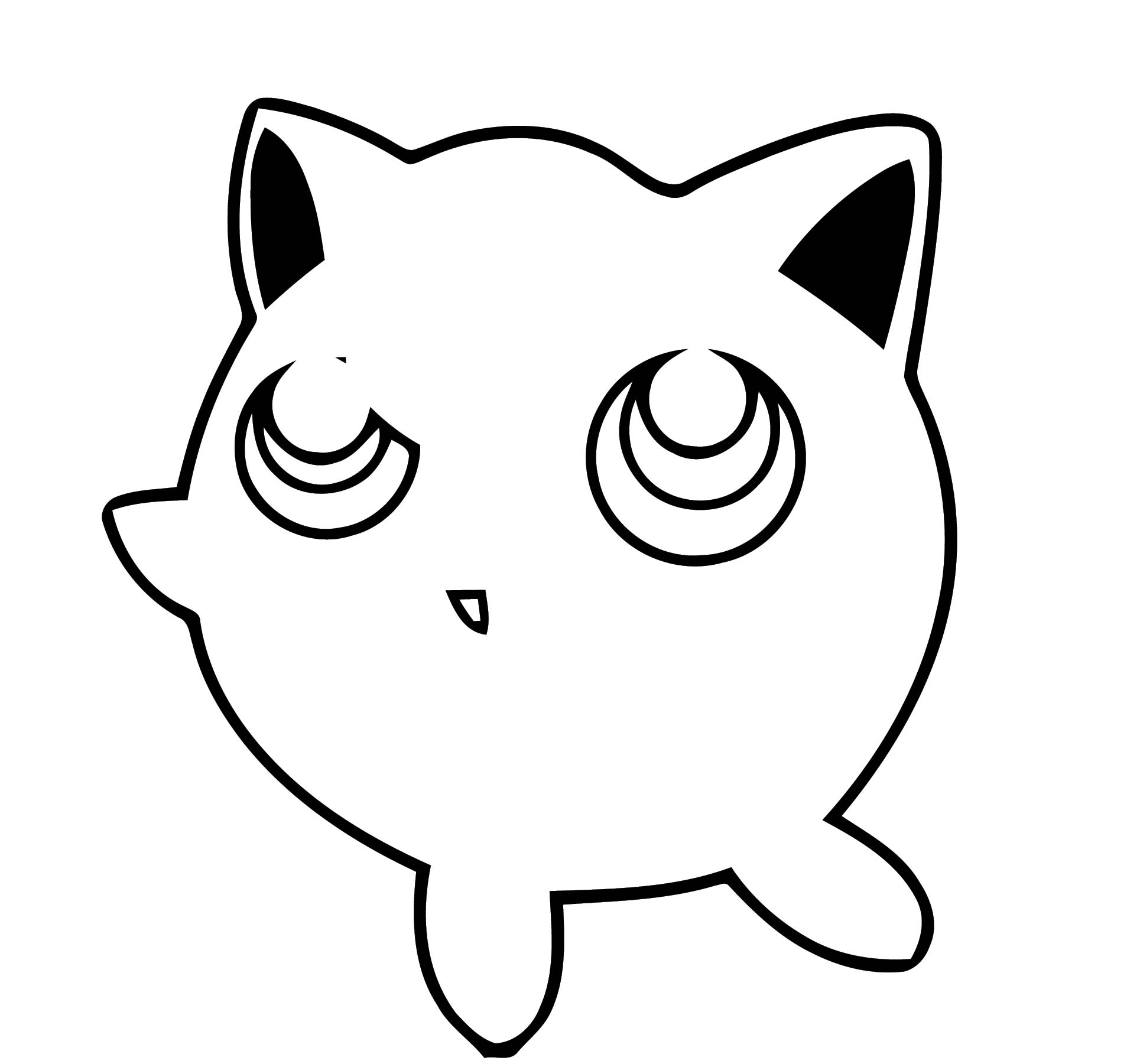 Jigglypuff Coloring Page WeColoringPage 072