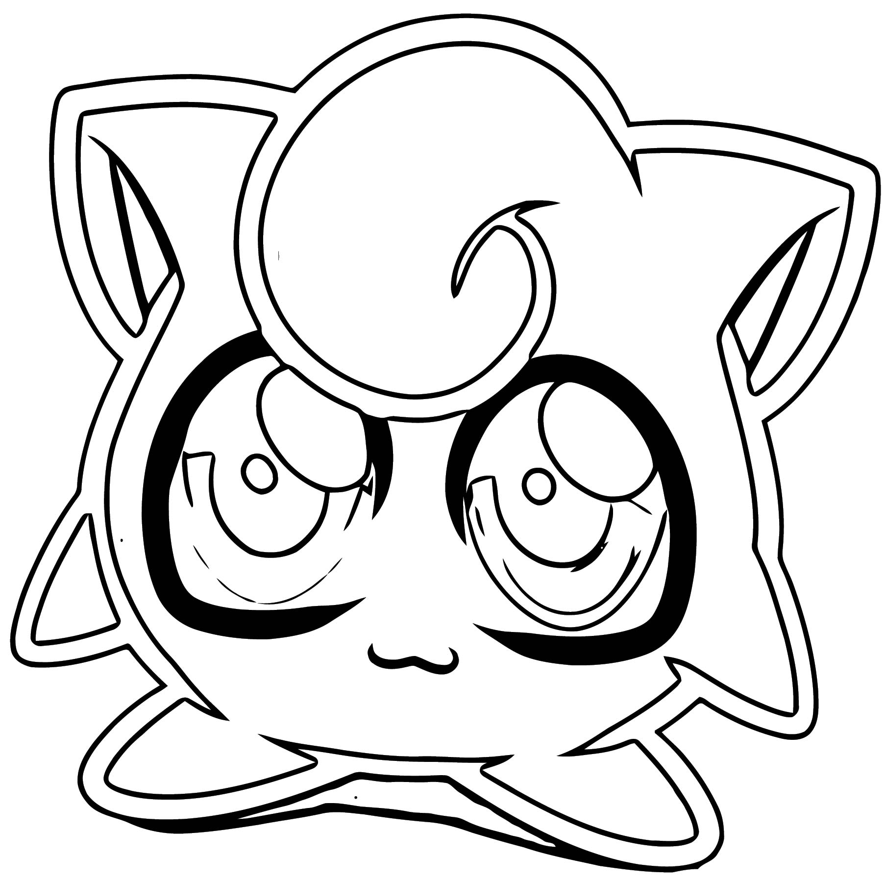 Jigglypuff Coloring Page WeColoringPage 074