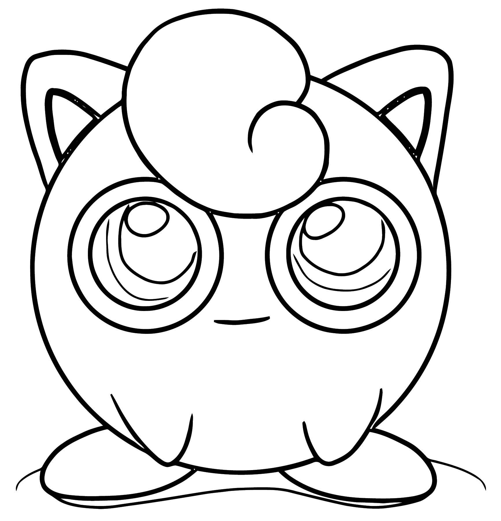 Jigglypuff Coloring Page WeColoringPage 075