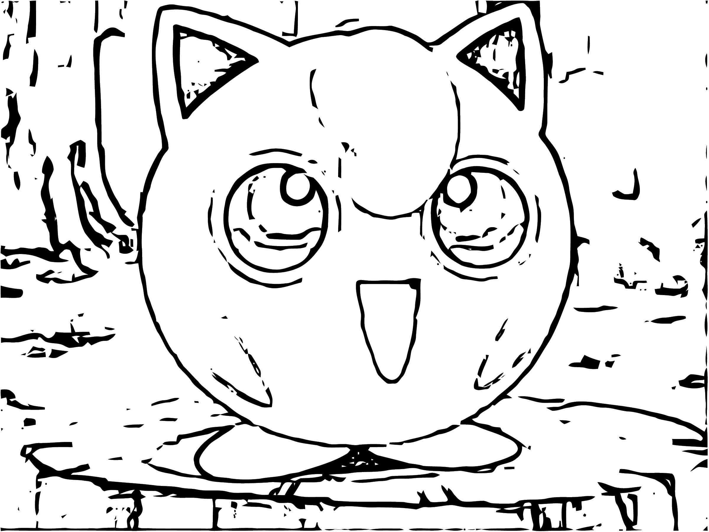 Jigglypuff Coloring Page WeColoringPage 076