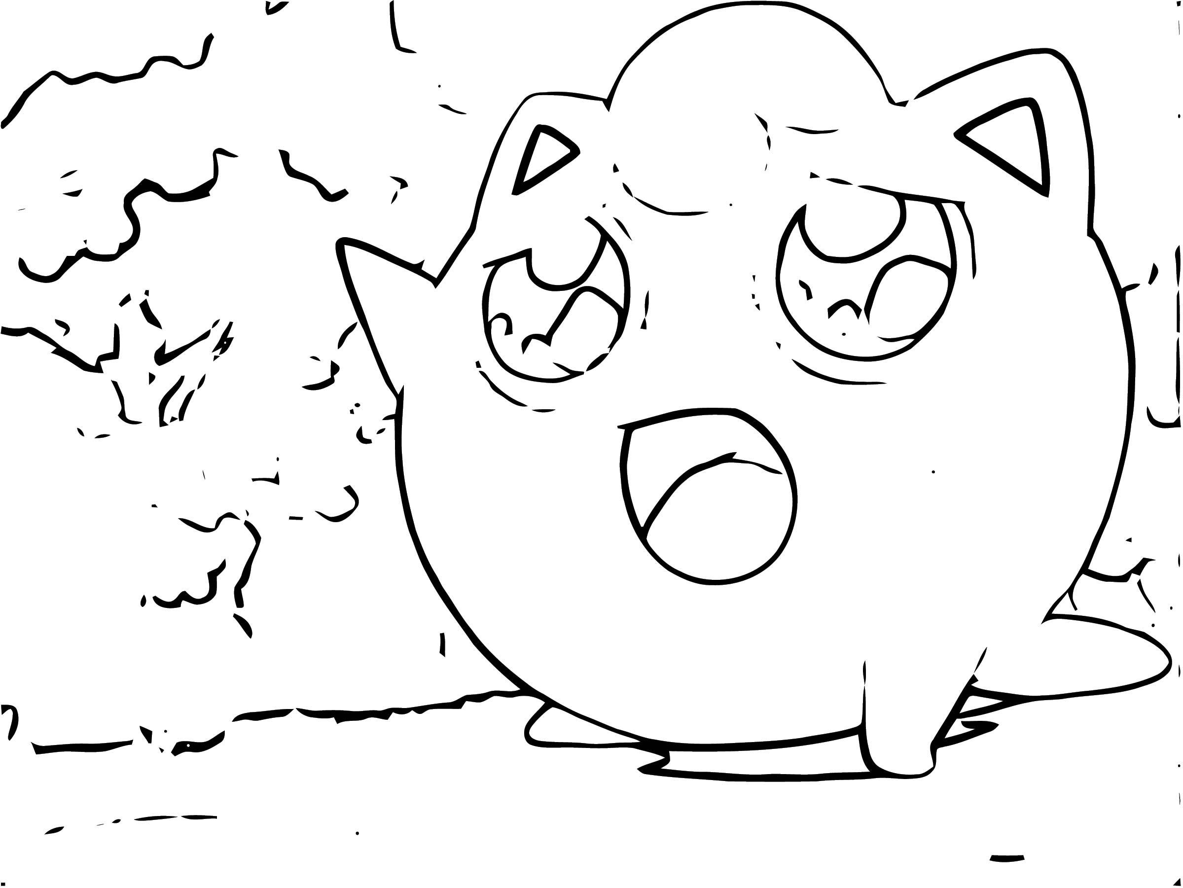 Jigglypuff Coloring Page WeColoringPage 077