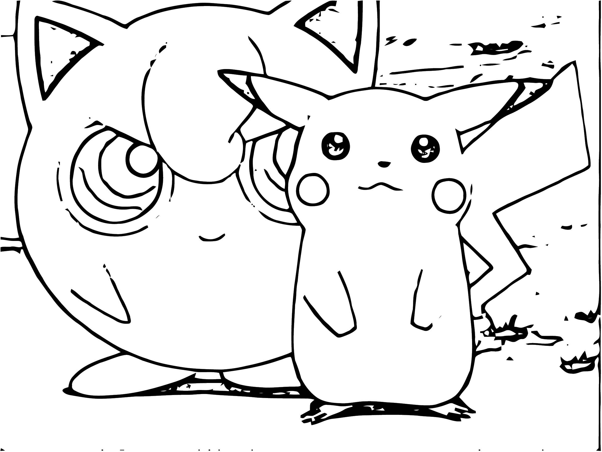 Jigglypuff Coloring Page WeColoringPage 078