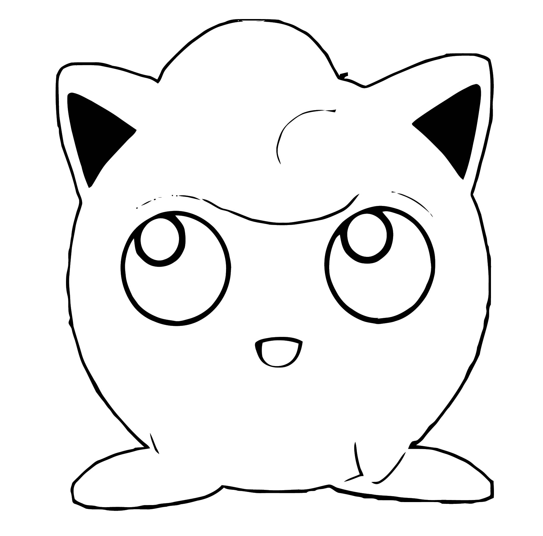 Jigglypuff Coloring Page WeColoringPage 094