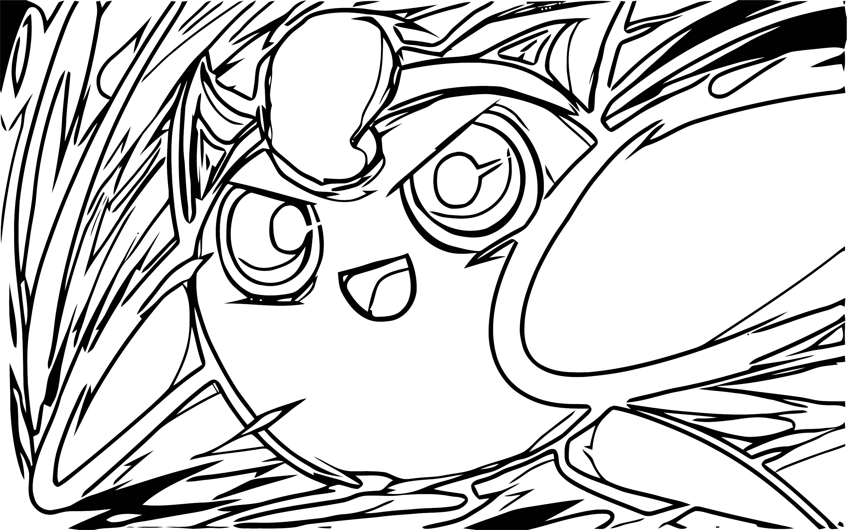 Jigglypuff Coloring Page WeColoringPage 101