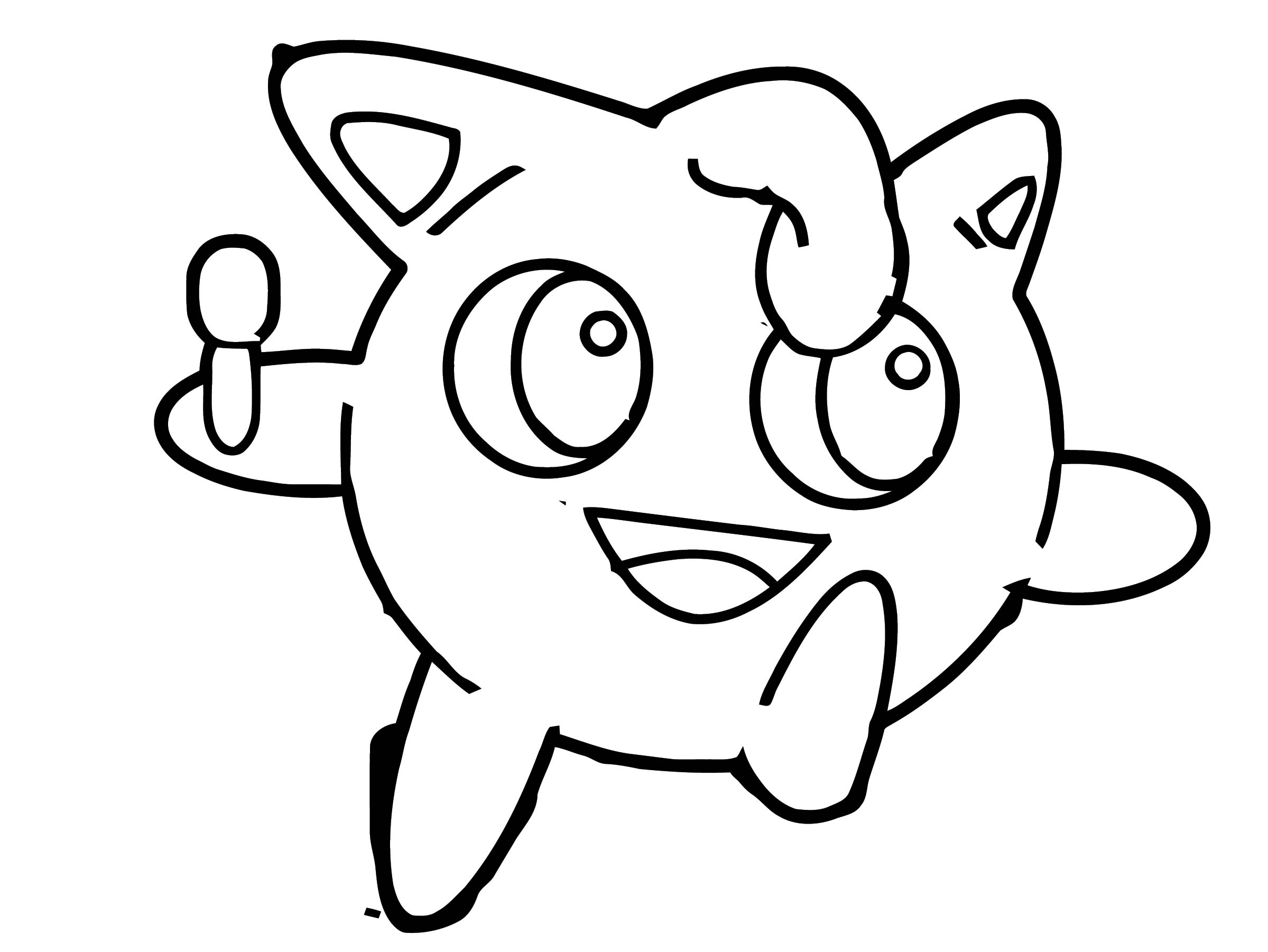 Jigglypuff Coloring Page WeColoringPage 102