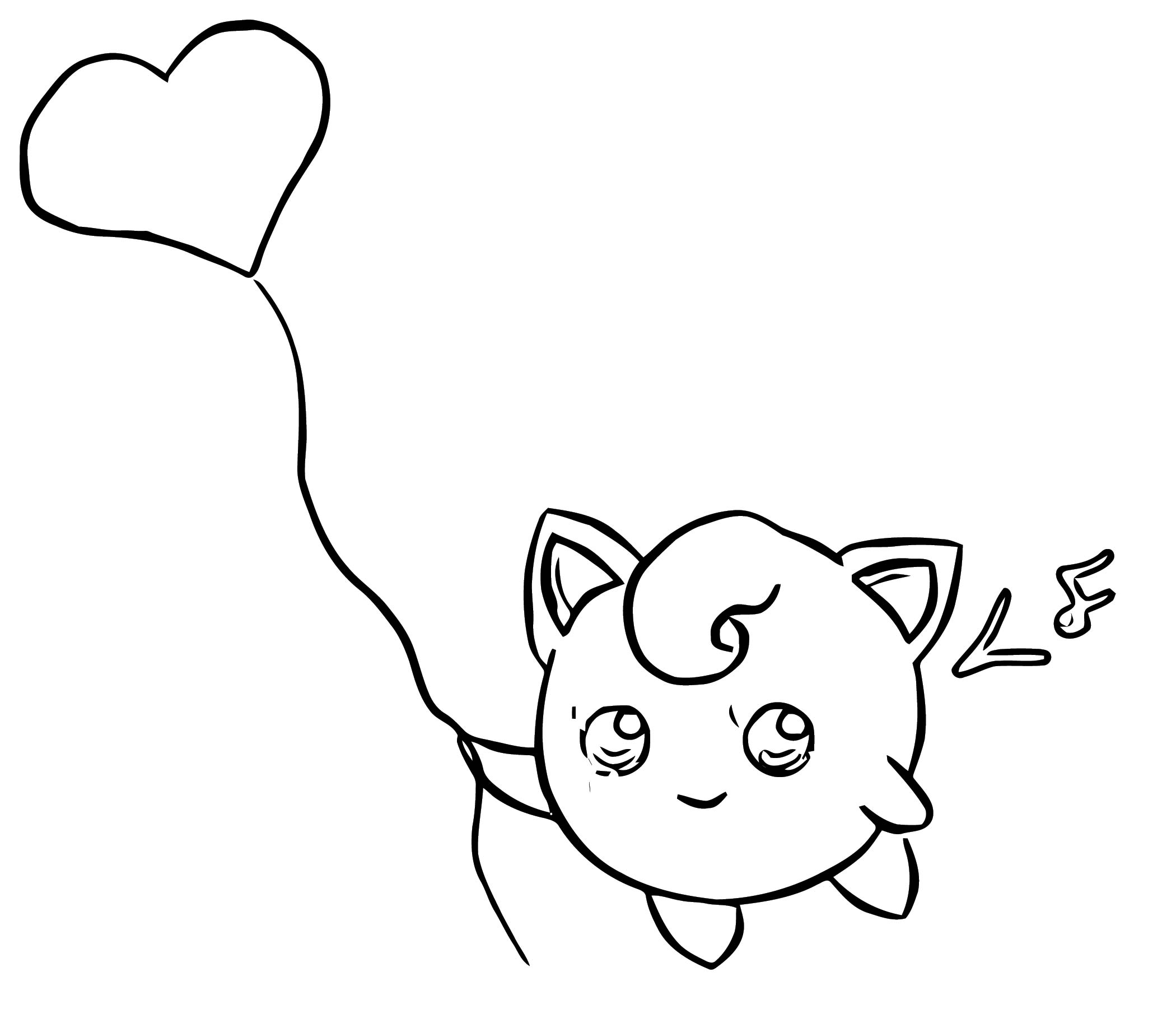 Jigglypuff Coloring Page WeColoringPage 108