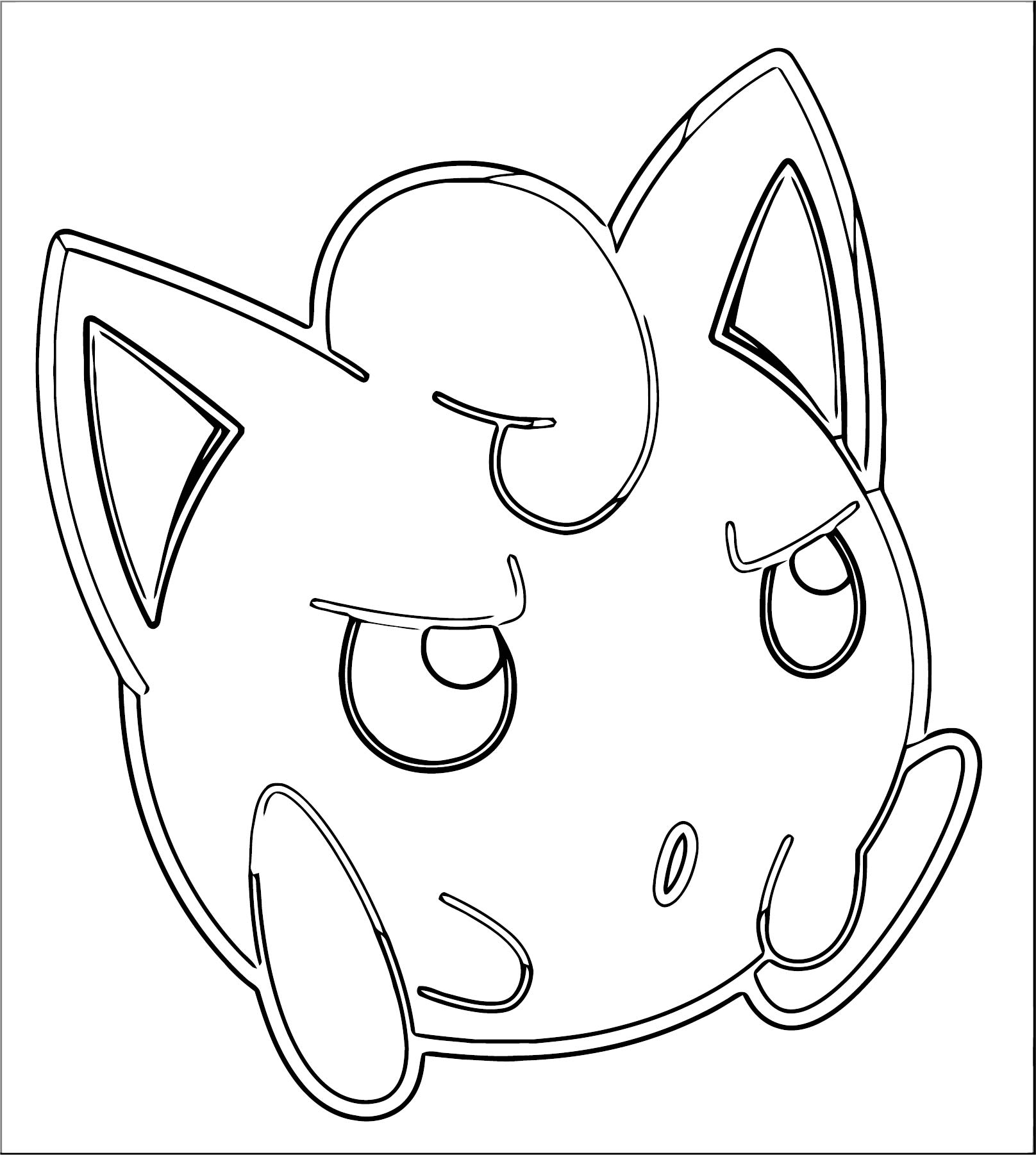 Jigglypuff Coloring Page WeColoringPage 111