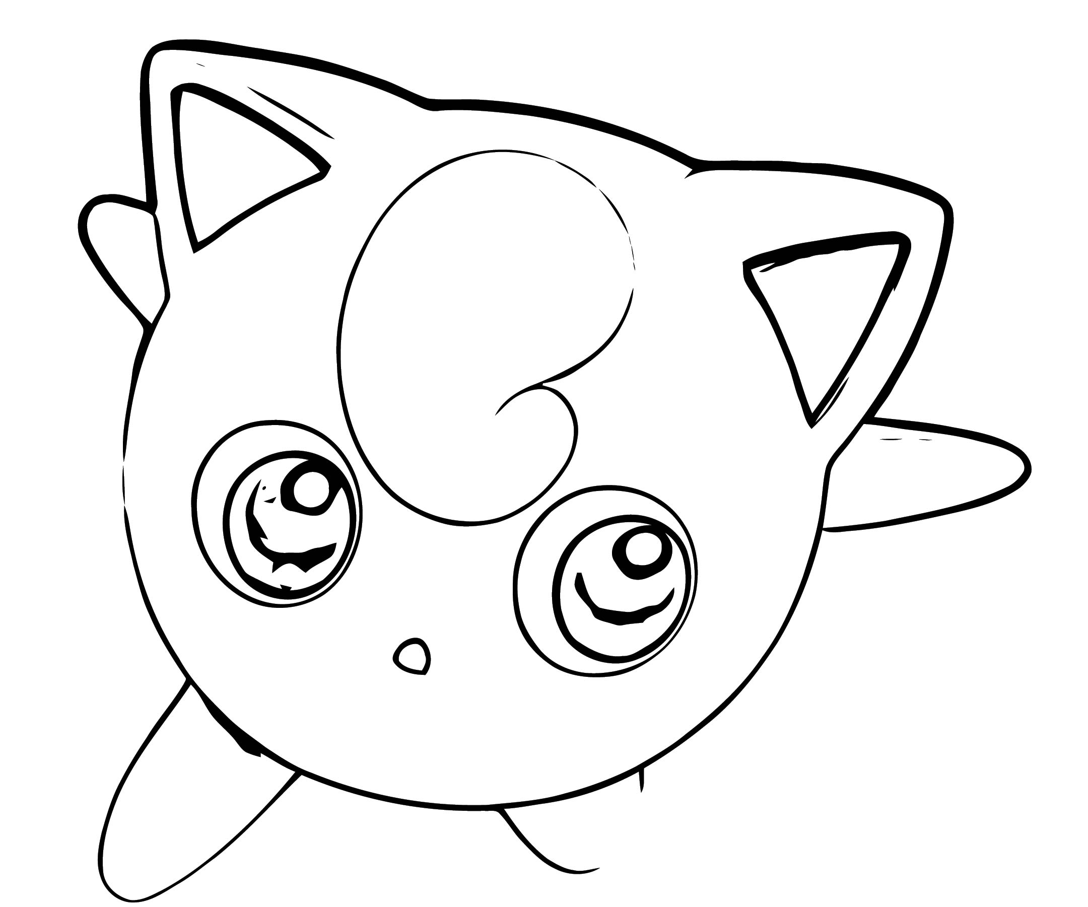 Jigglypuff Coloring Page WeColoringPage 112