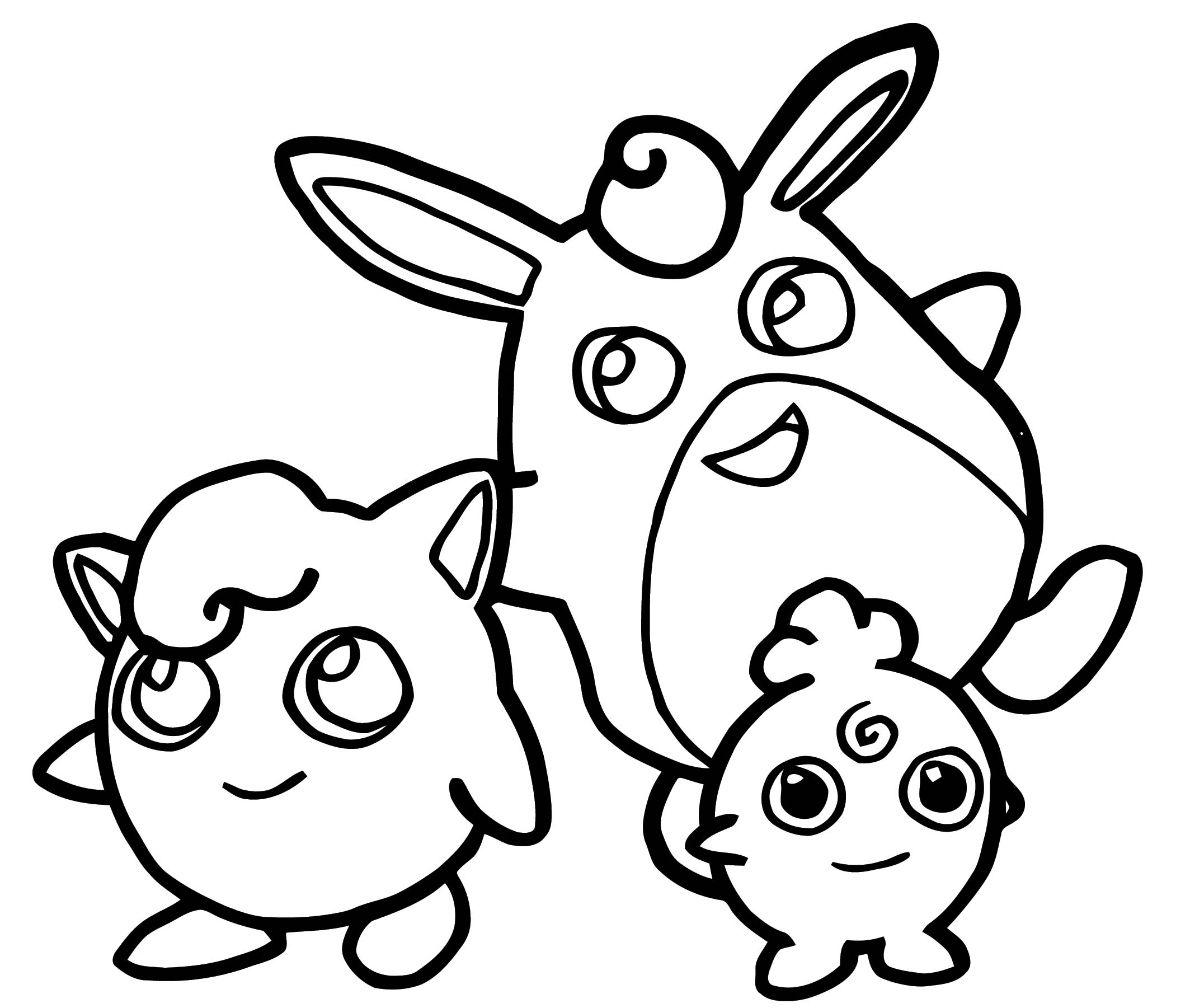 Jigglypuff Coloring Page WeColoringPage 124