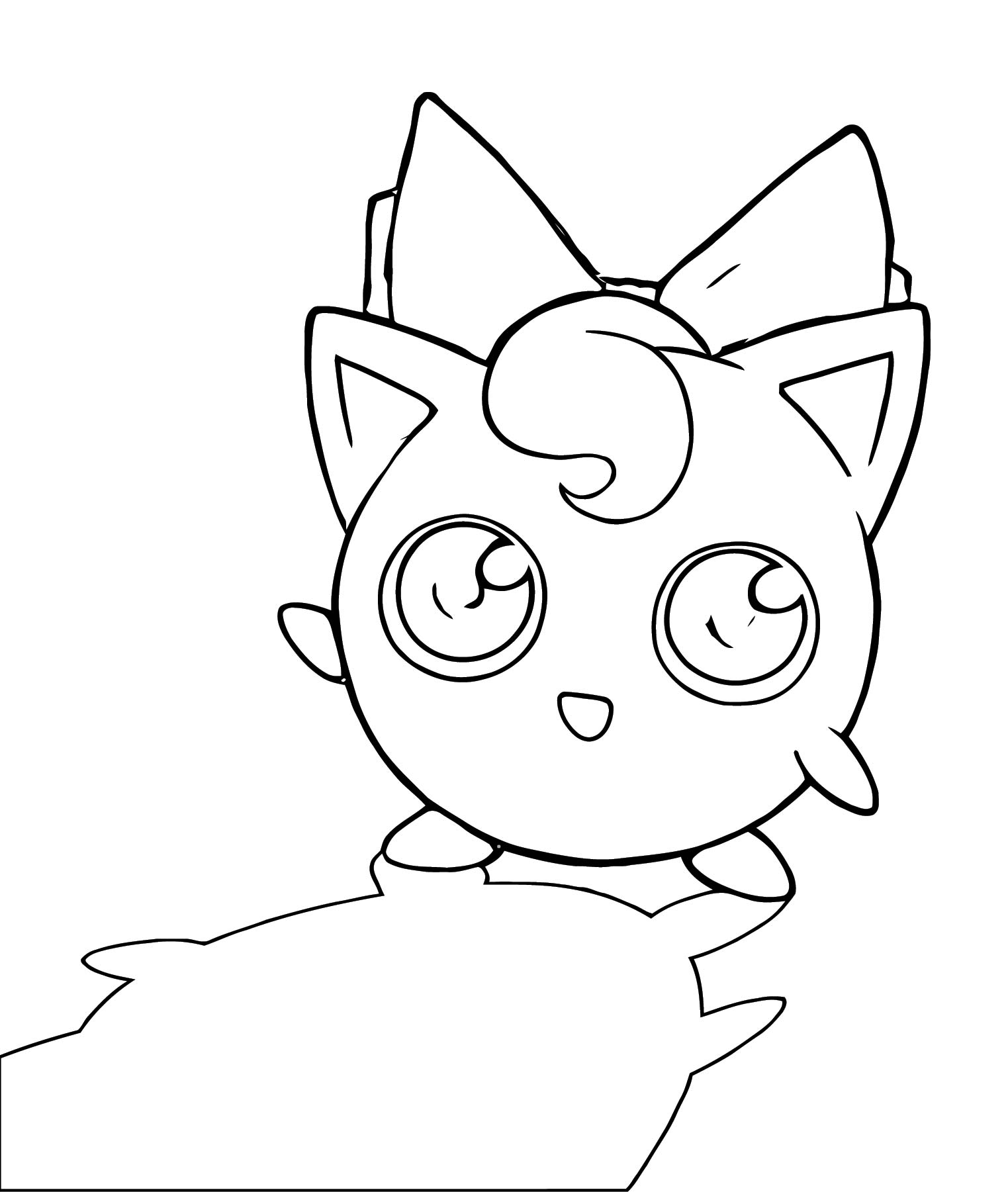 Jigglypuff Coloring Page WeColoringPage 128