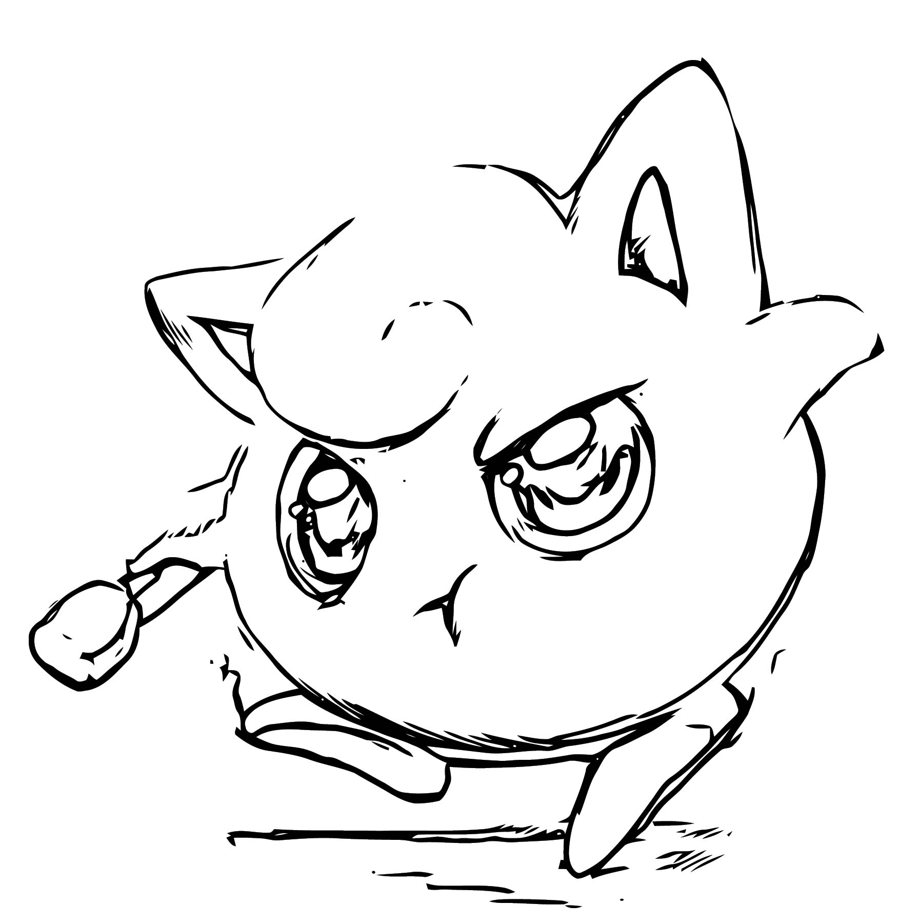 Jigglypuff Coloring Page WeColoringPage 131