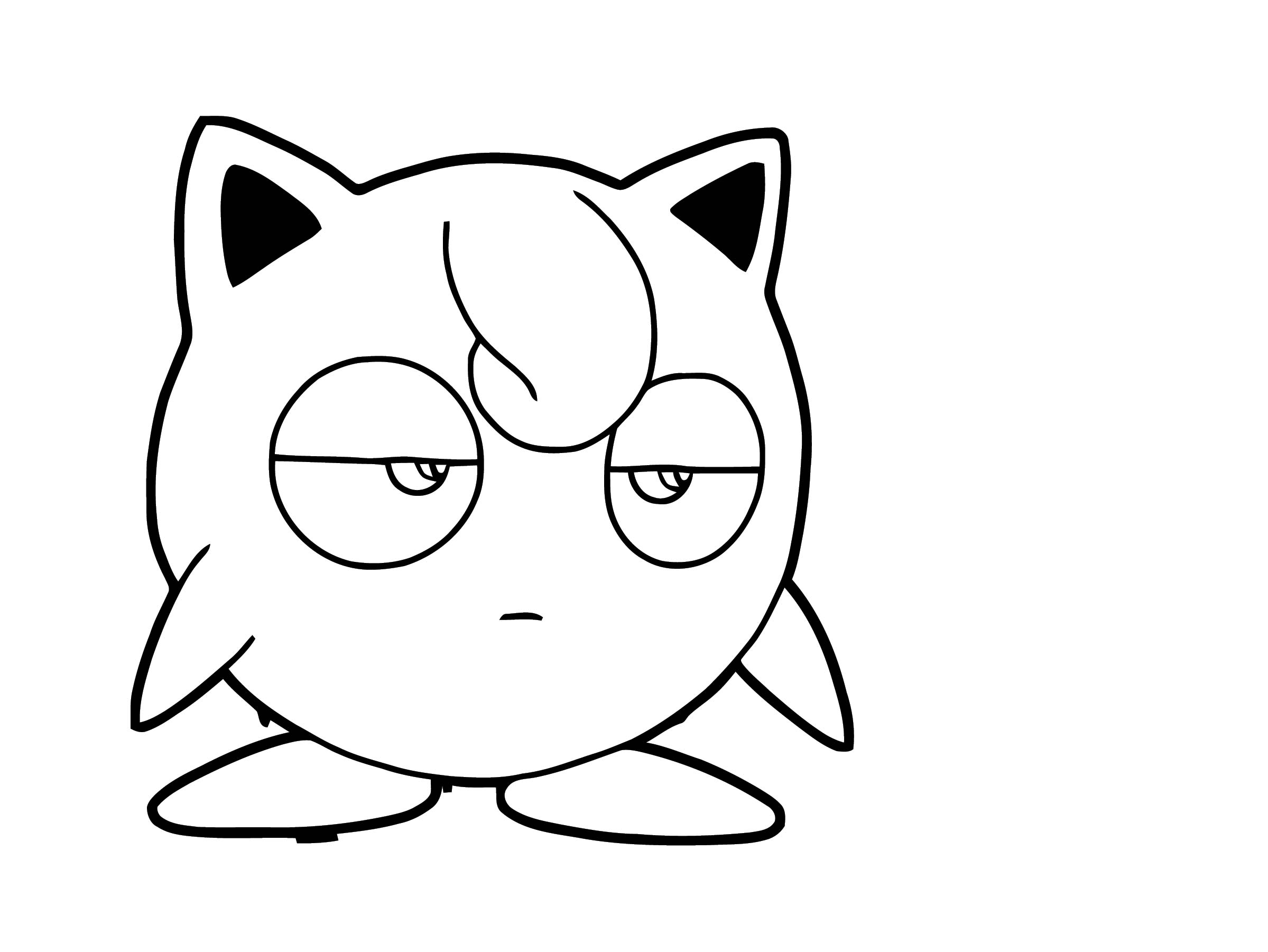 Jigglypuff Coloring Page WeColoringPage 134