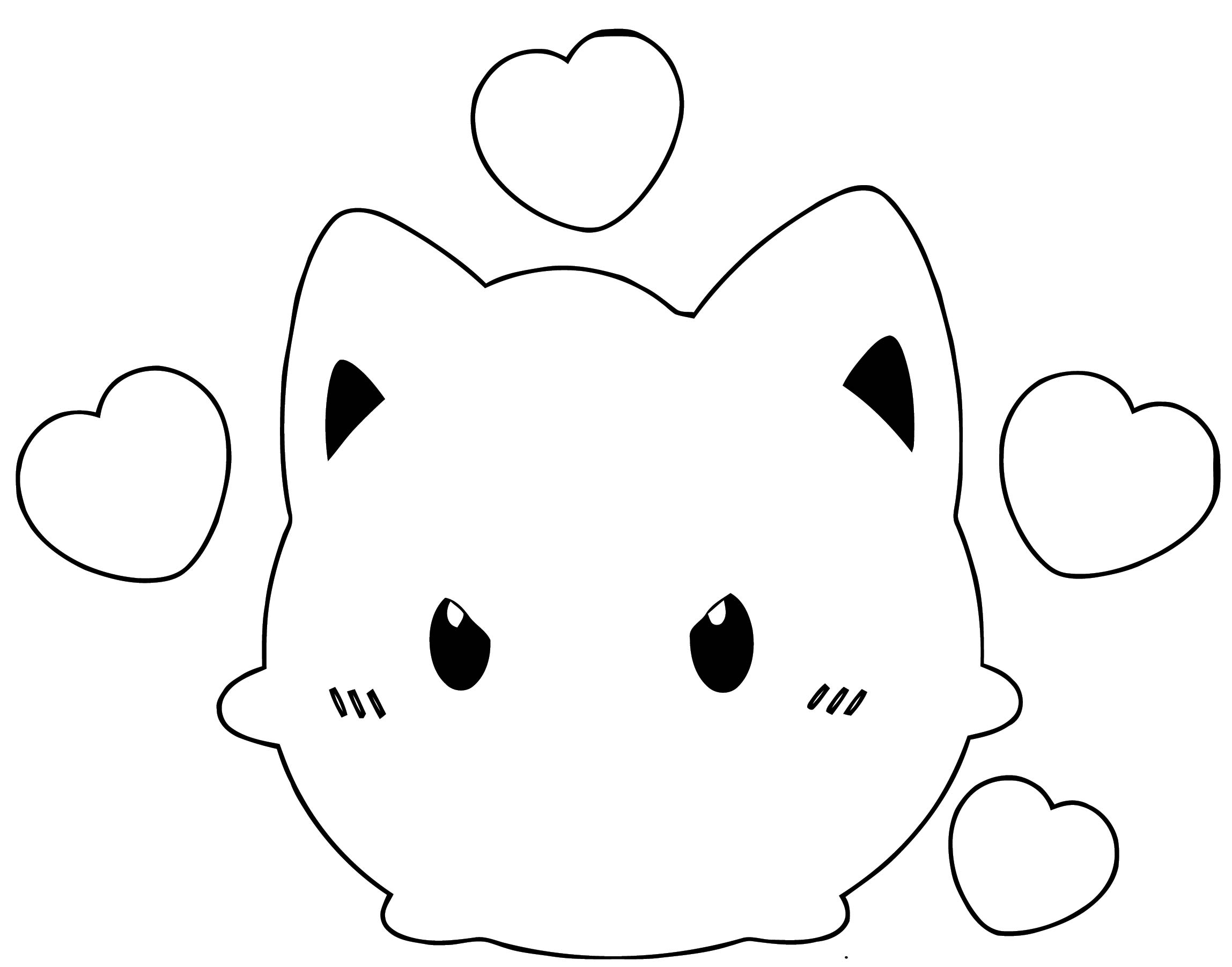 Jigglypuff Coloring Page WeColoringPage 138