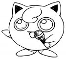 Jigglypuff Coloring Page WeColoringPage 140
