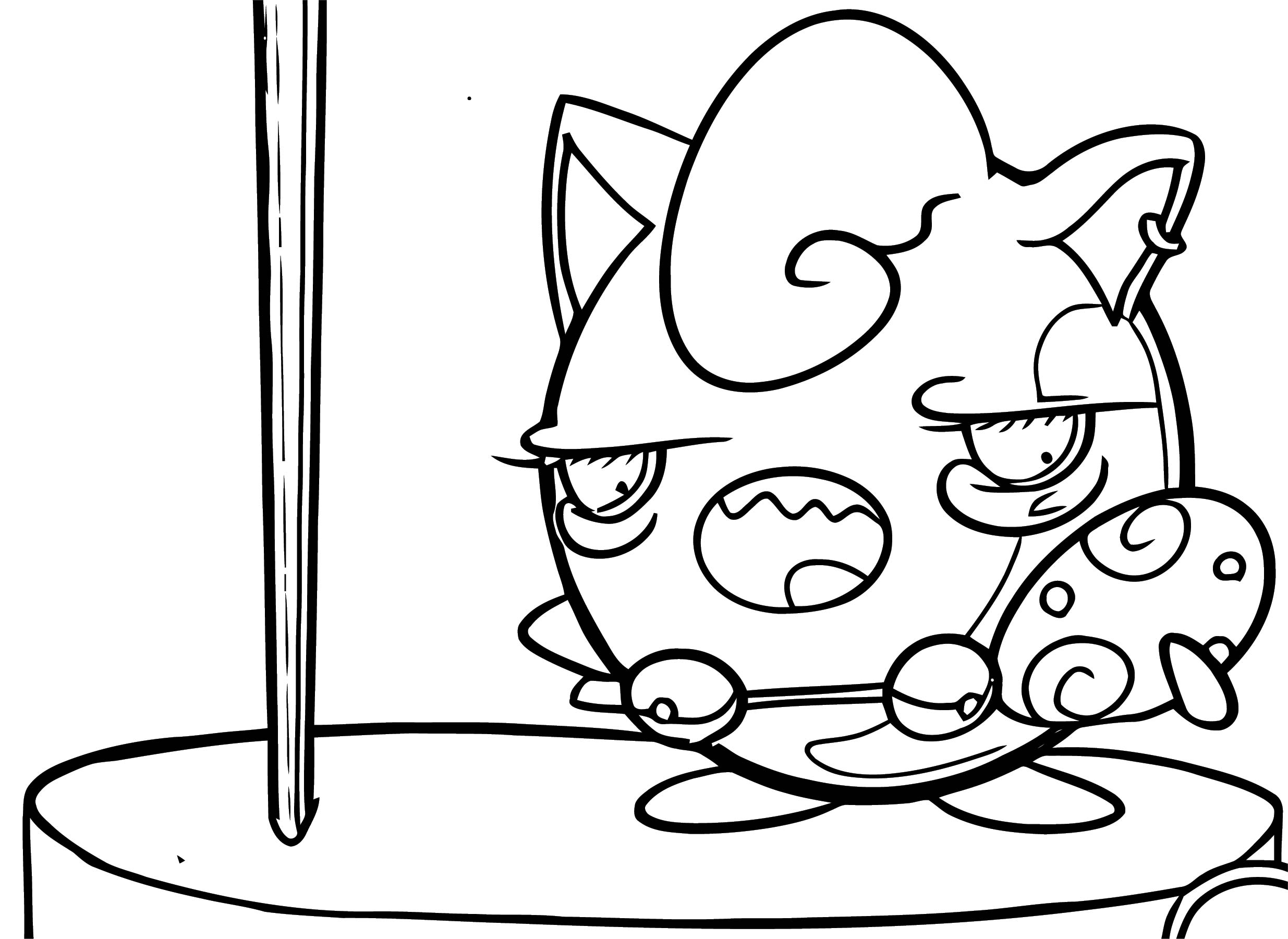 Jigglypuff Coloring Page WeColoringPage 145