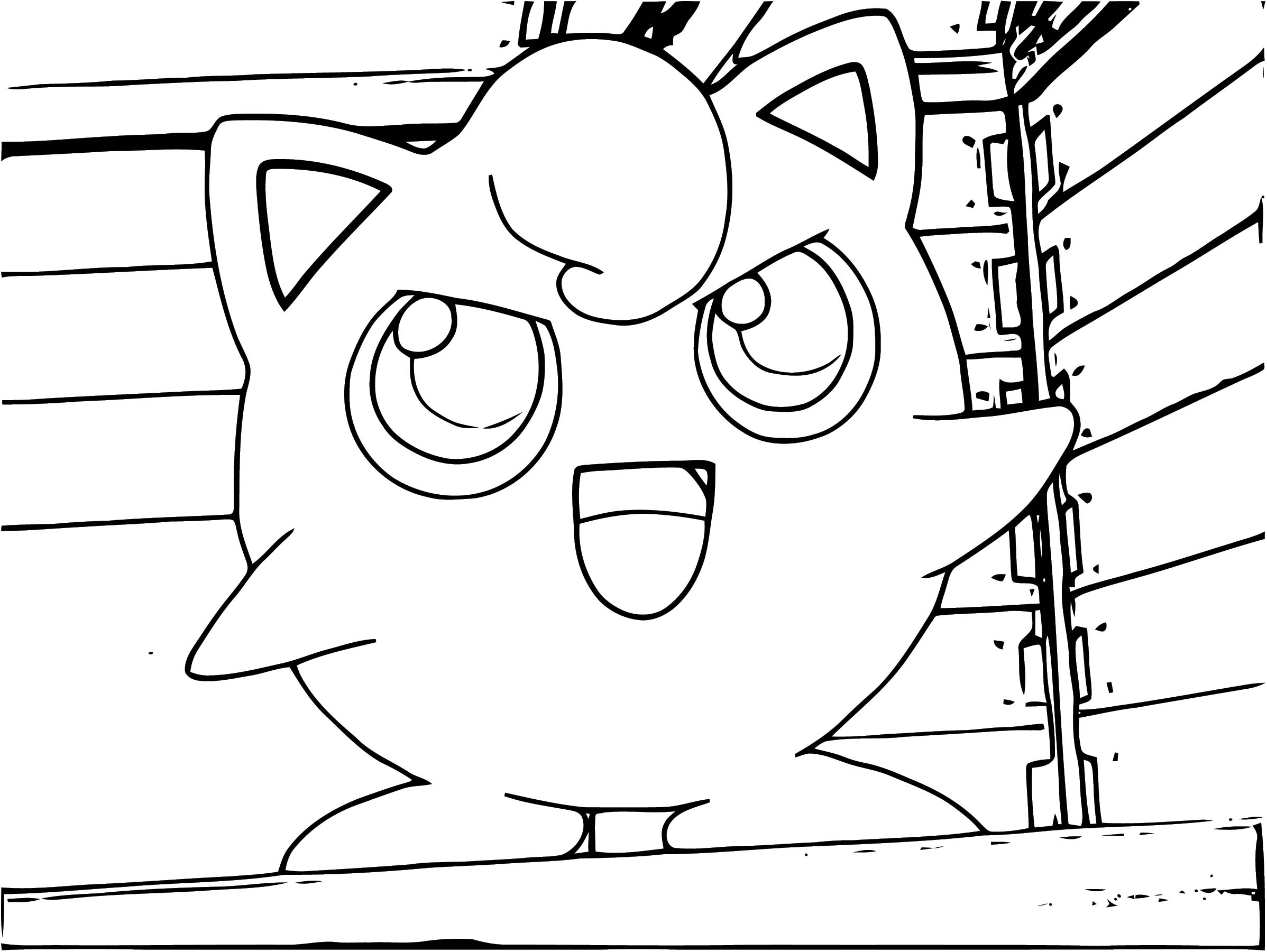 Jigglypuff Coloring Page WeColoringPage 146