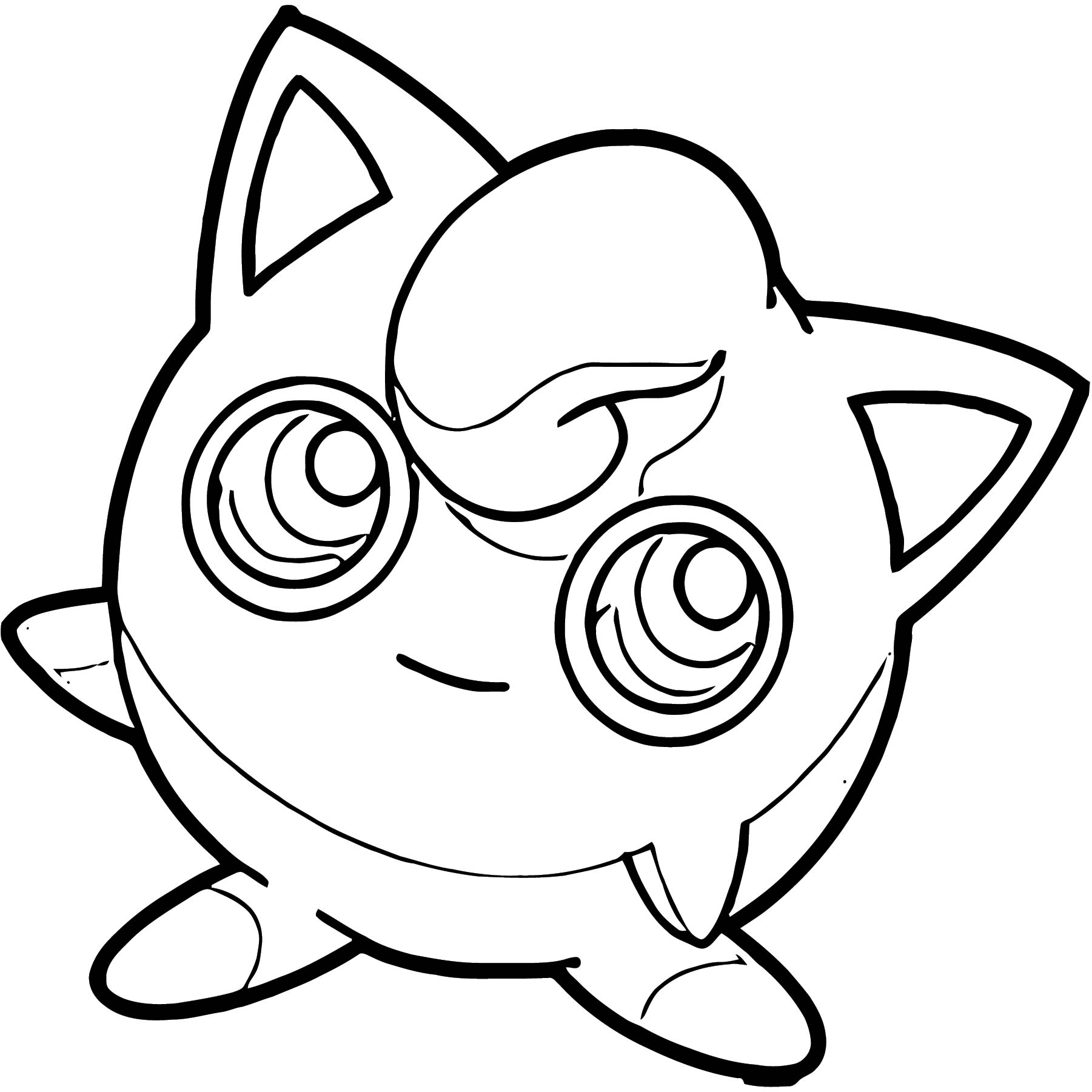 Jigglypuff Coloring Page WeColoringPage 149