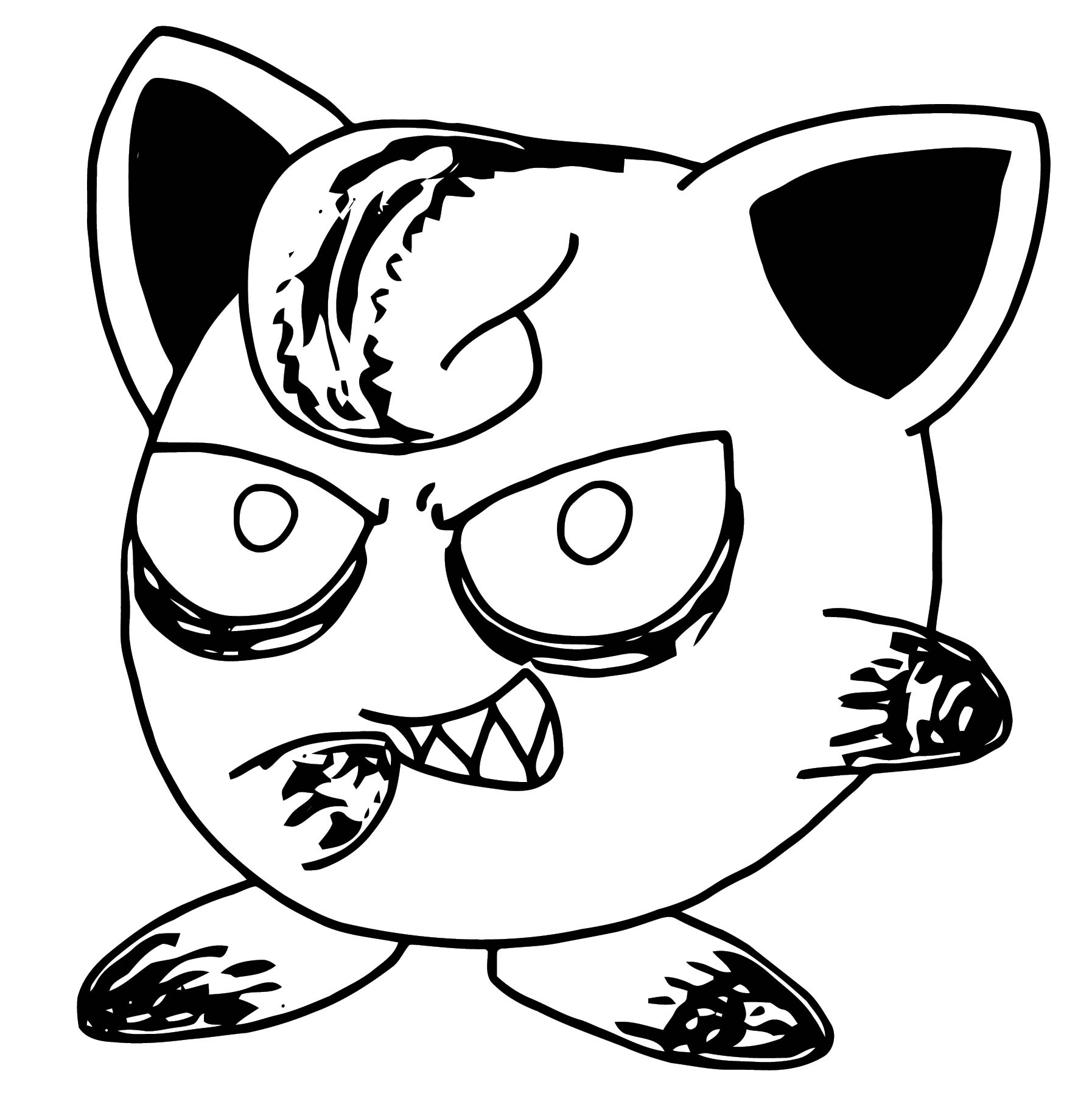 Jigglypuff Coloring Page WeColoringPage 153