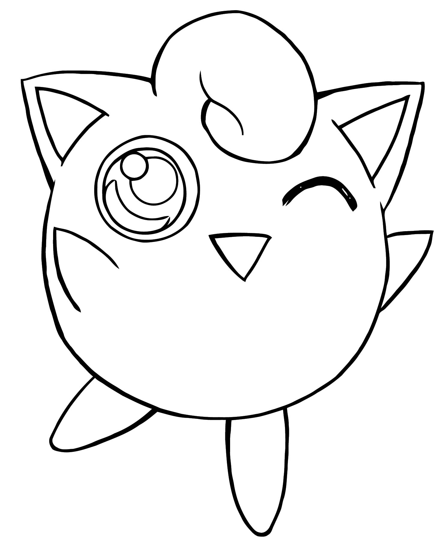 Jigglypuff Coloring Page WeColoringPage 162
