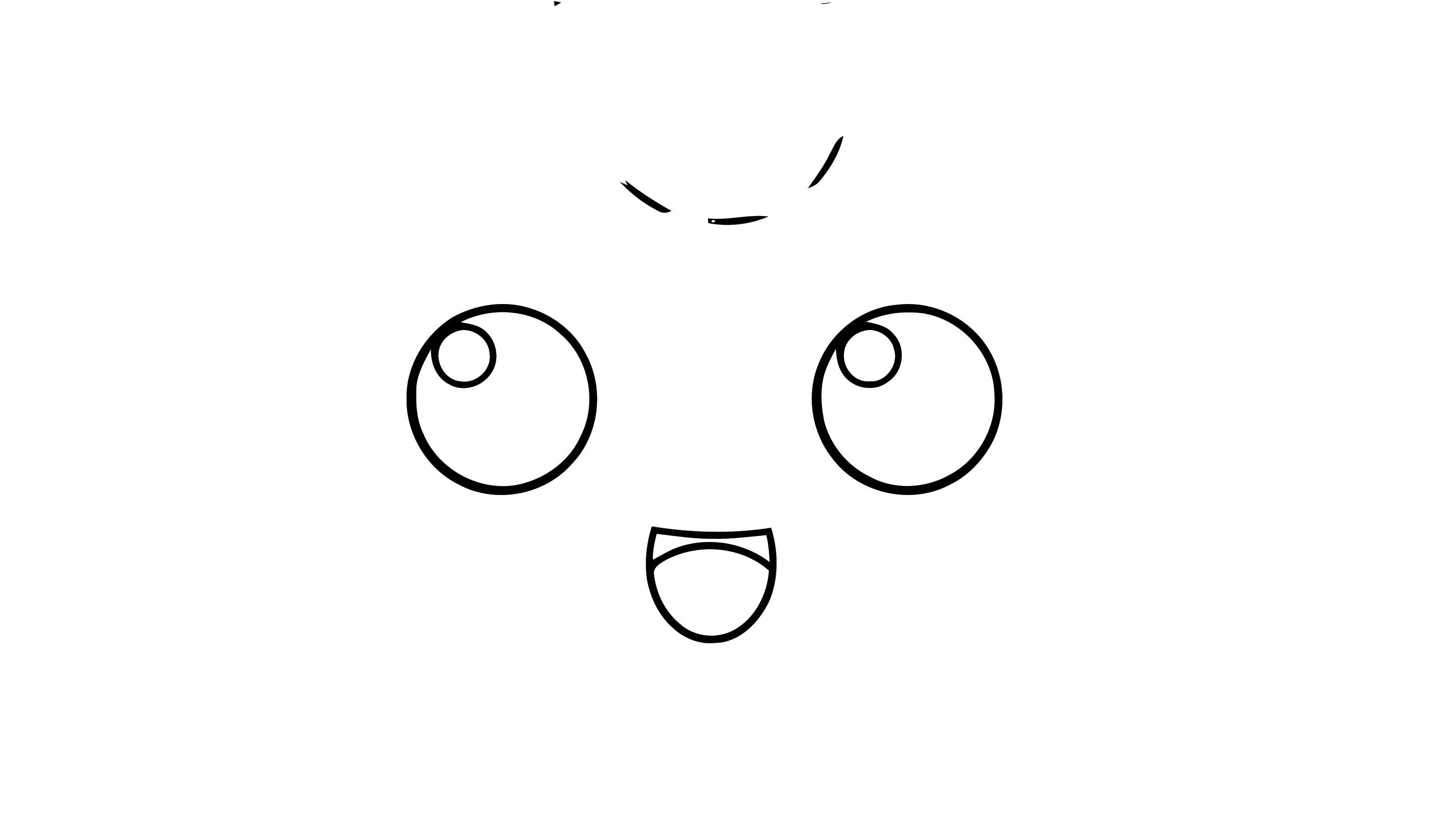 Jigglypuff Eye Coloring Page