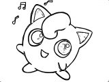 Jigglypuff Mini Painting Coloring Page