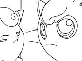 Jigglypuff Pound Coloring Page