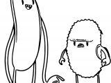 Kaeru Sharetrips Character Design Vector Illustration Cute Couple Cartoonized Coloring Page