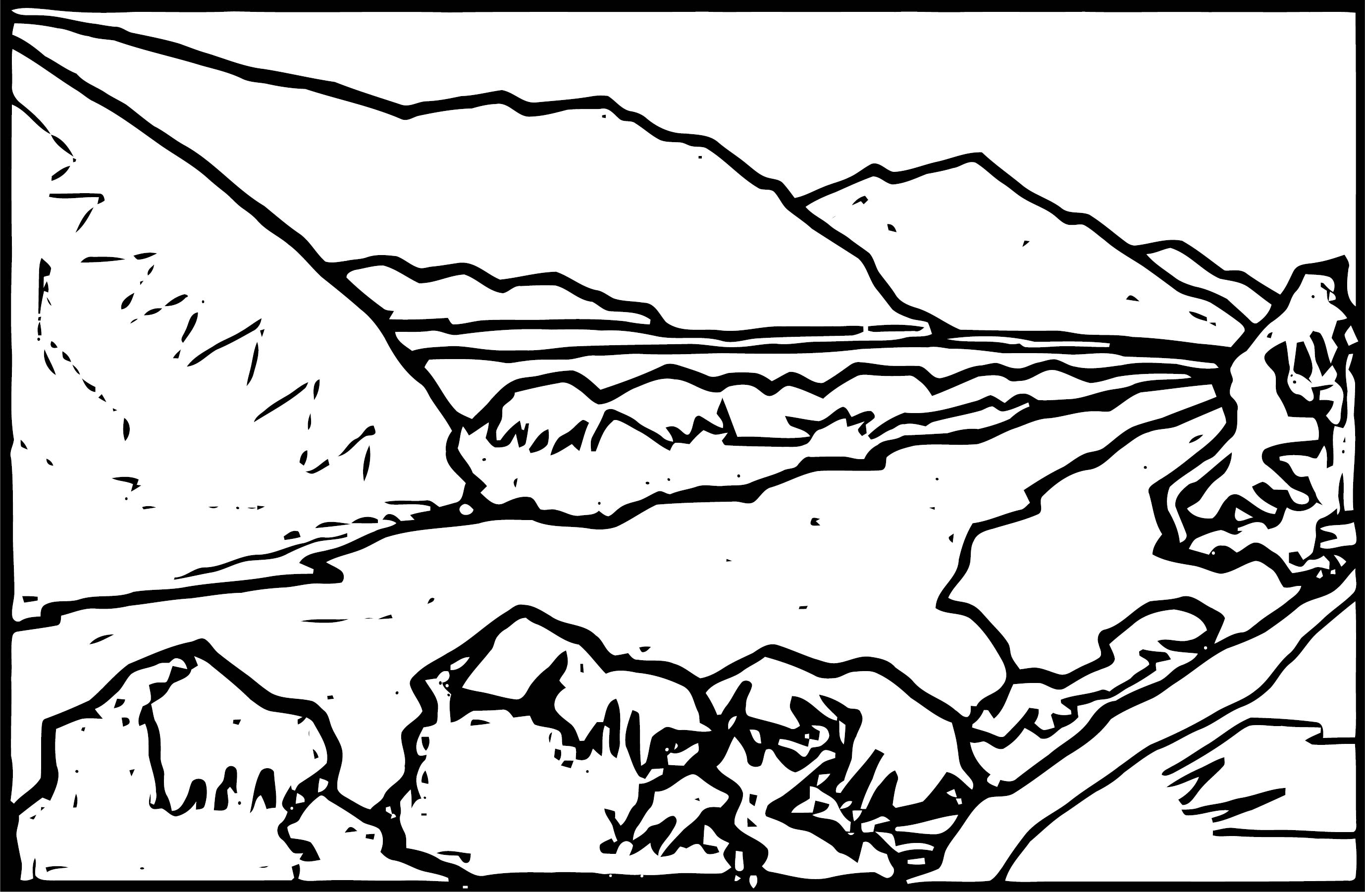 Landscape Coloring Page Wecoloringpage 95