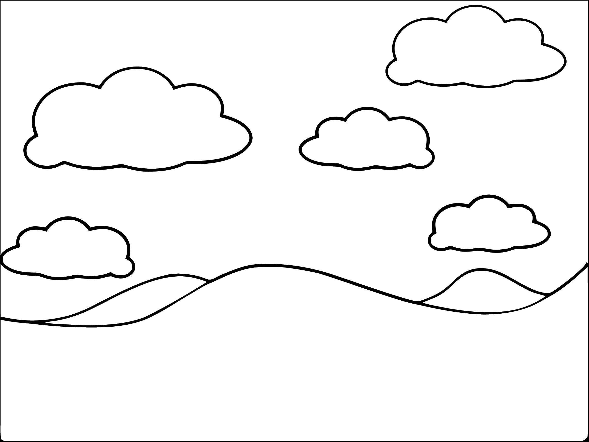 Landscape Hi Coloring Page