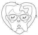 Pokemon Hipster Jigglypuff Coloring Page