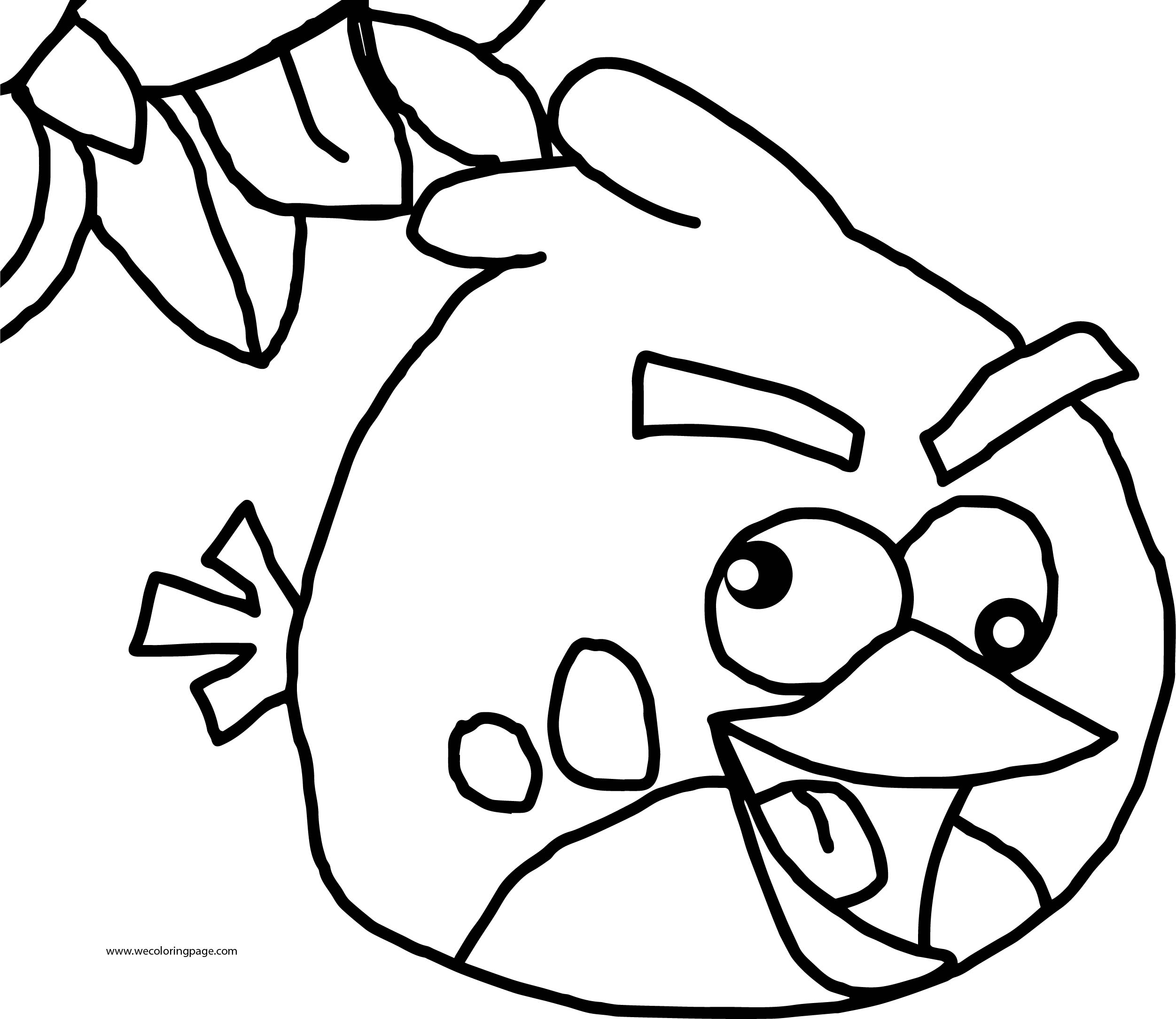 Something Angry Birds Coloring Page
