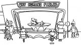 The Simpsons The Jetsons Parody Pic Jetsons Coloring Page