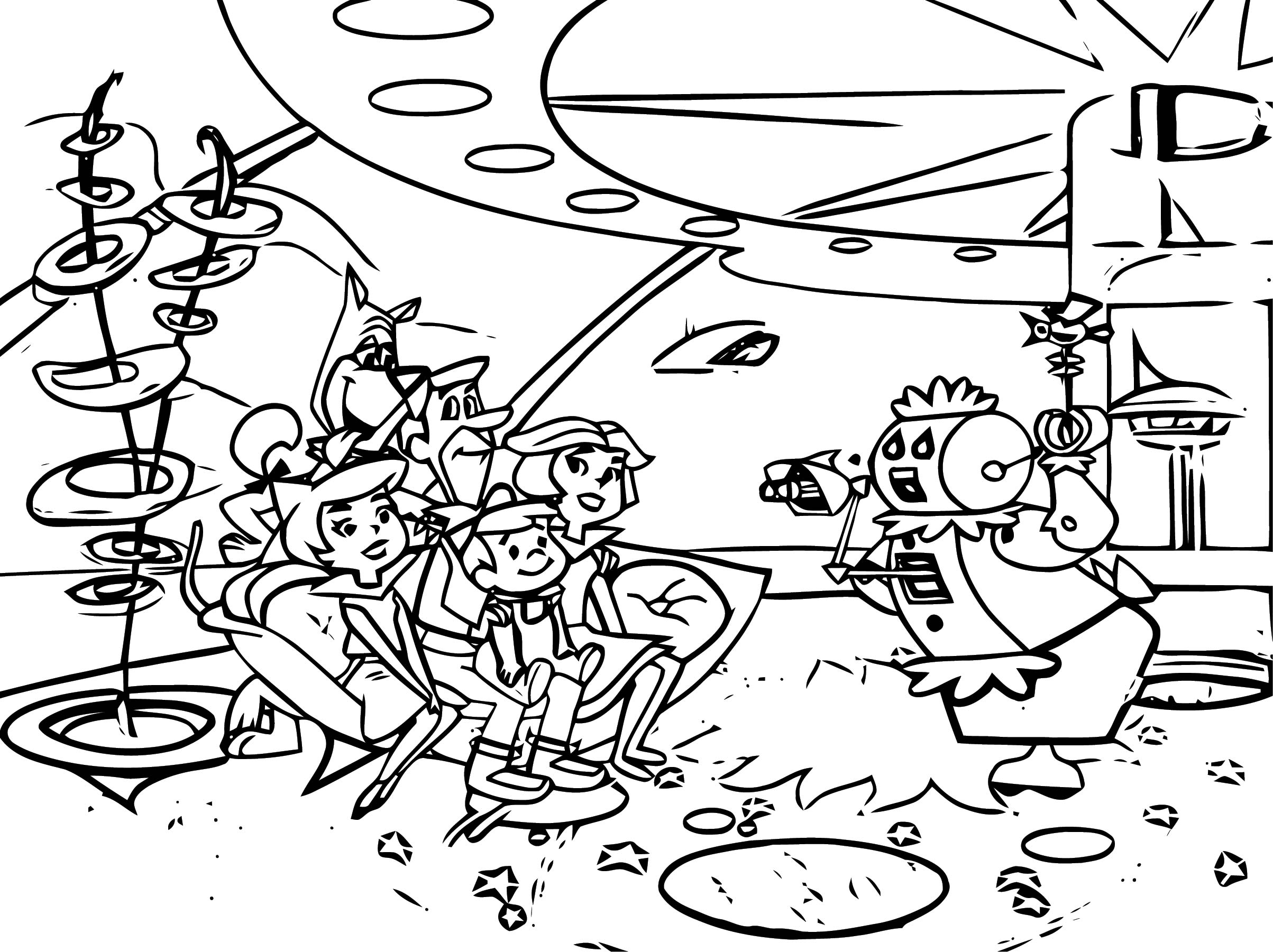 We Still Dont Live Like The Jetsons But Heres How Close We Are Coloring Page