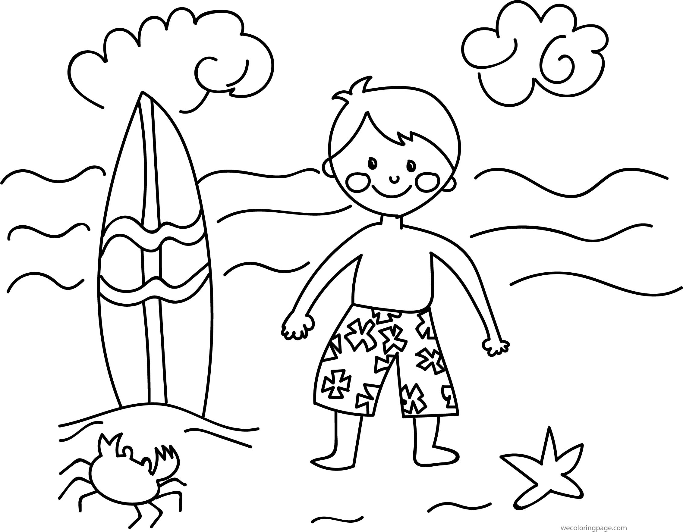 images for kids painting drawing for summer coloring page