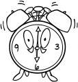 Alarm Clock Clip Art 29 Free Printable 74 Cartoonized Free Printable Coloring Page