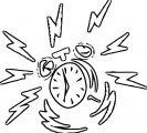 Alarm Clock Free Printable 15 Cartoonized Free Printable Coloring Page