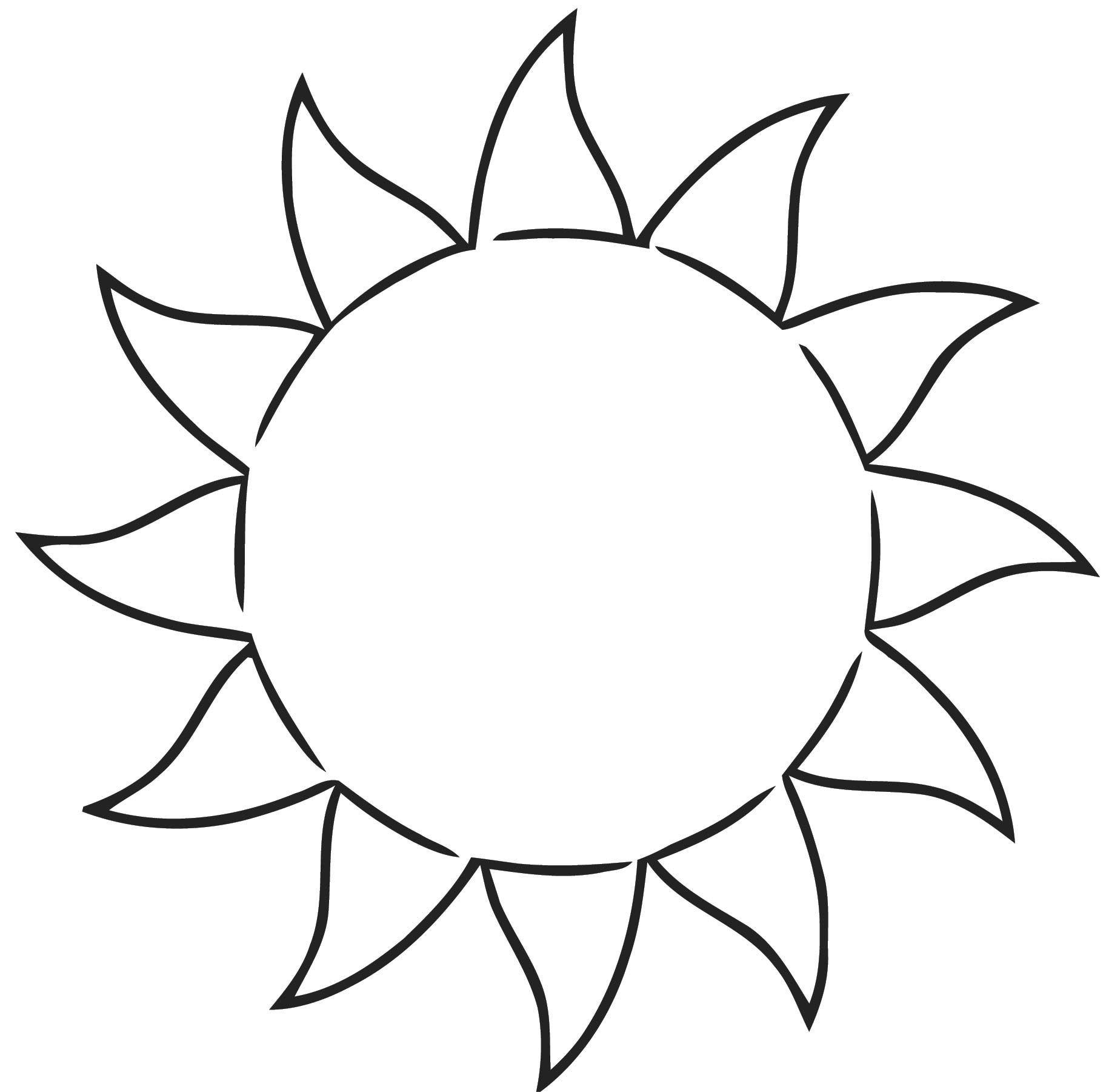 All Free Download Free Sun Clip A Free Printable Rt Cartoonized Free Printable Coloring Page