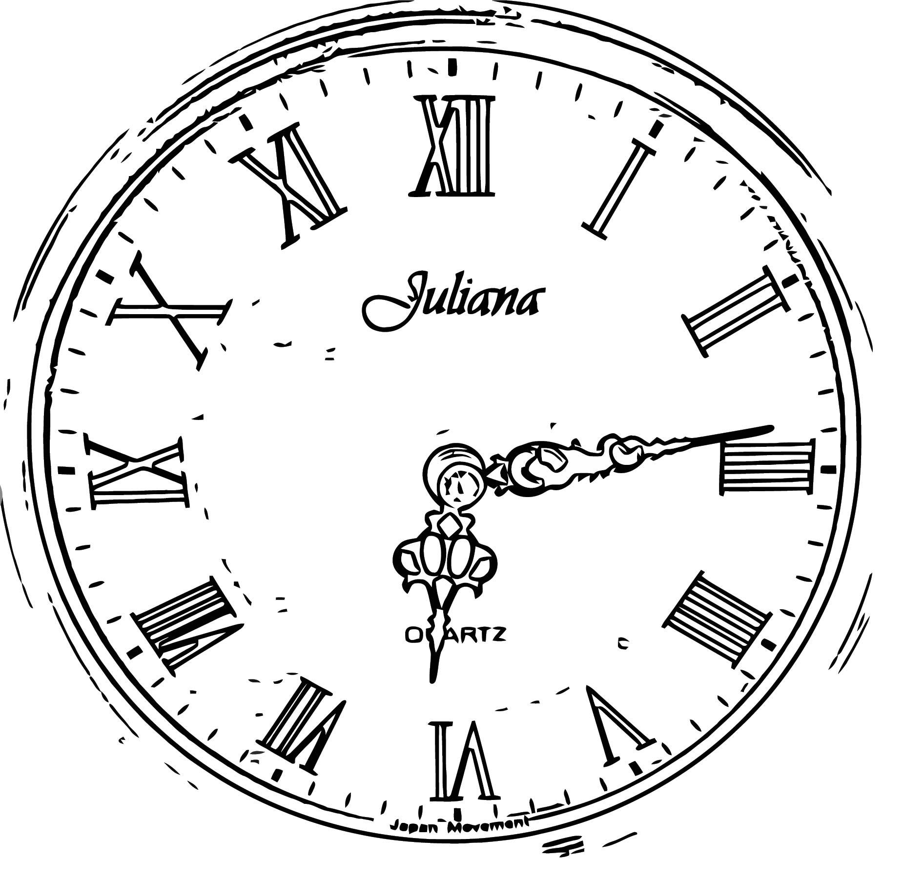 Antique Clock Face Clip Art 1138 Free Printable 66